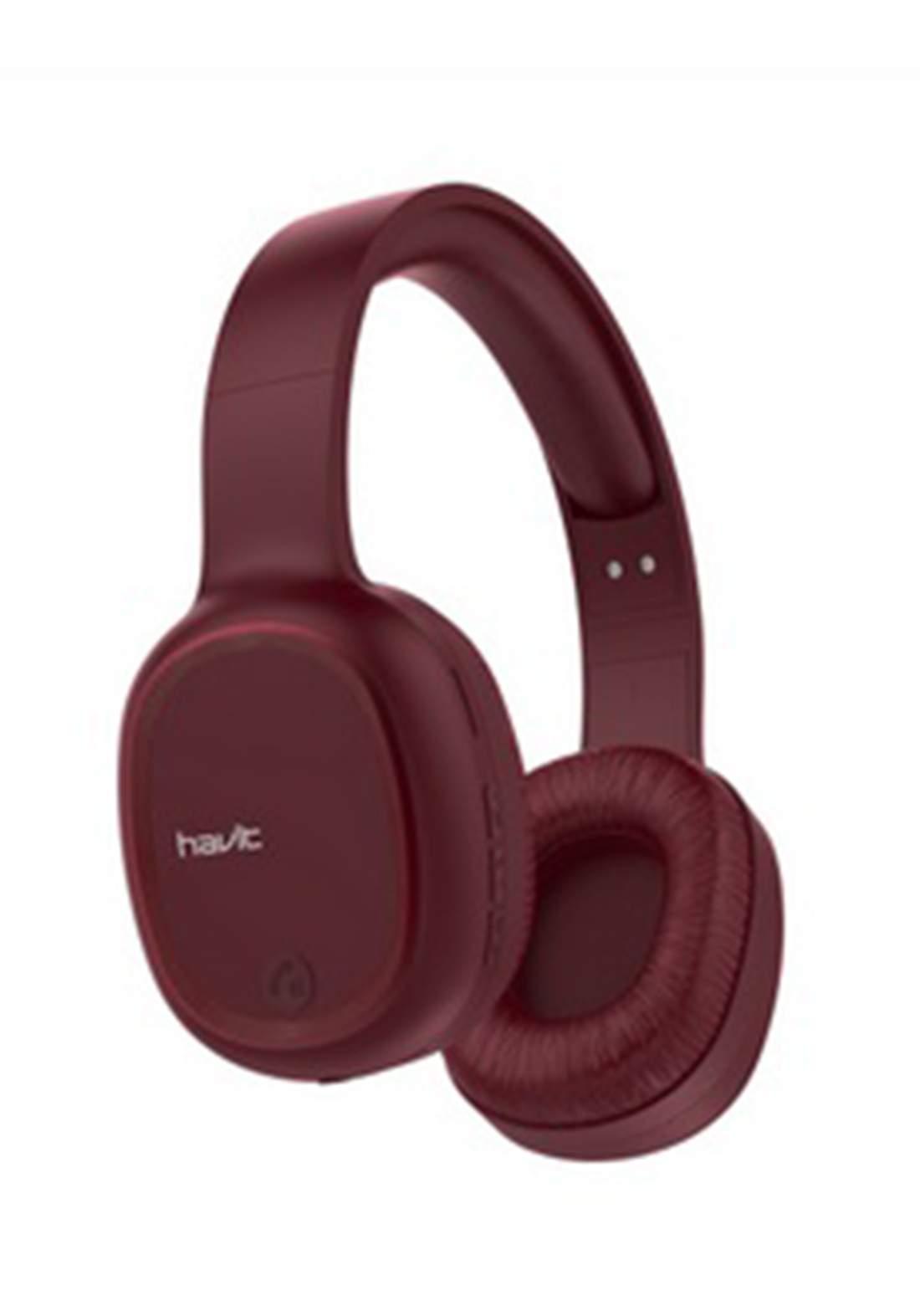 Havit H2590BT Multi-Function Wireless Bluetooth Headphone   سماعة