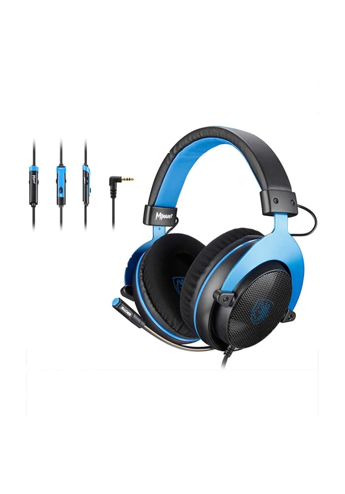 SADES MPOWER Stereo Gaming Headset سماعة سادز صوت ستيريو للألعاب الكمبيوتر