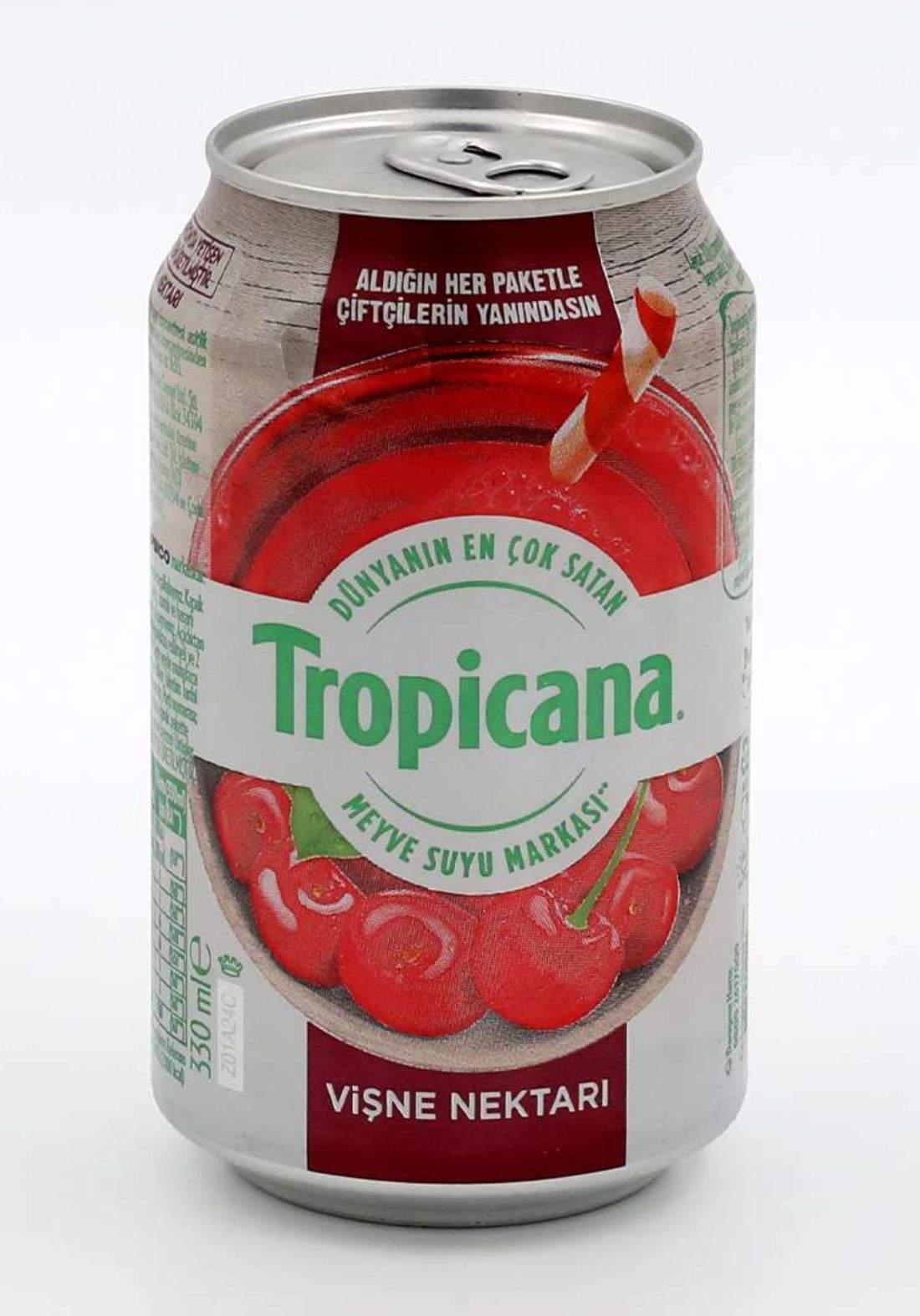 Tropicana Cherry Juice  روبيكانا عصير الكرز 330 مل