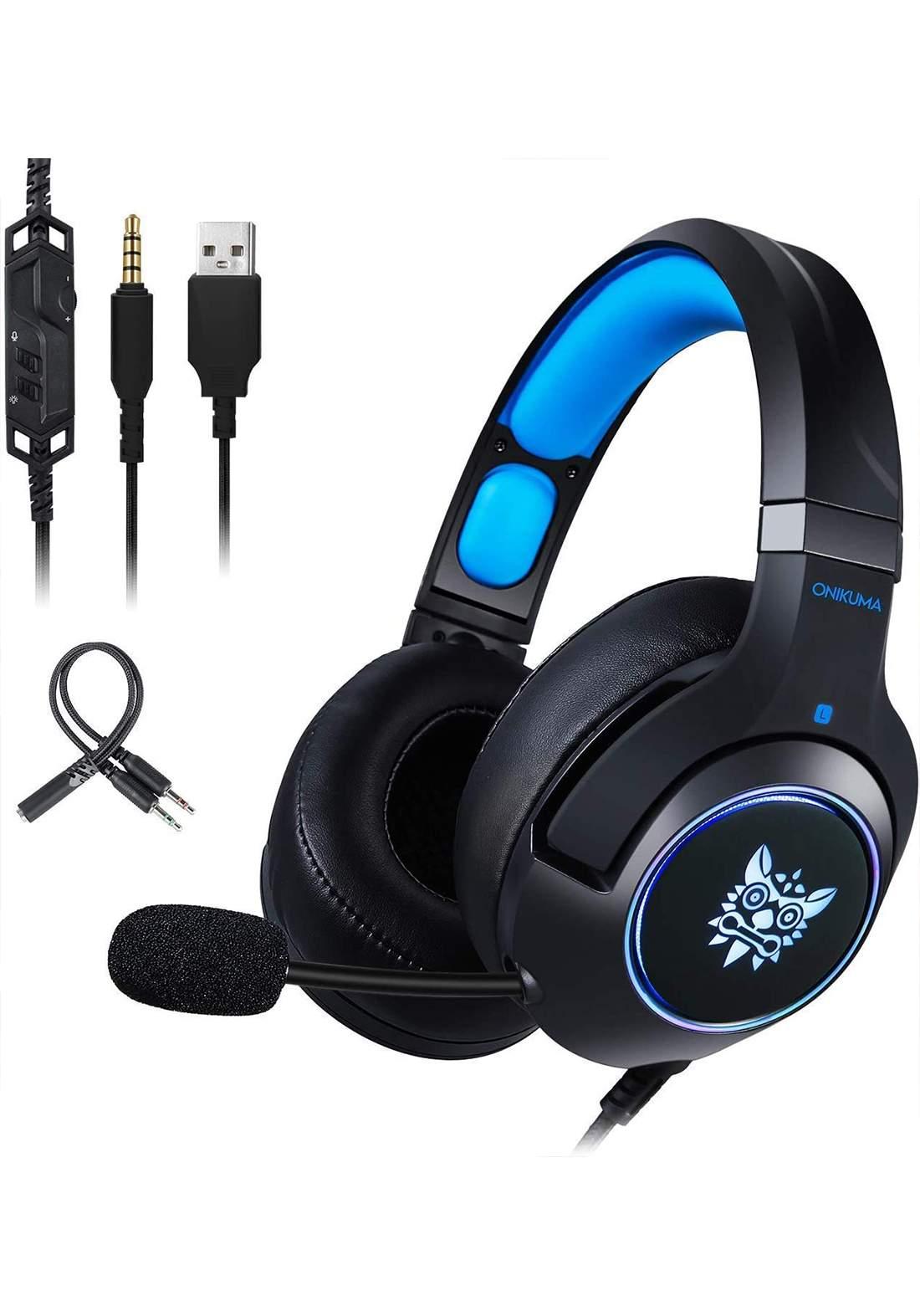 ONIKUMA K9 Aux Surround Sound Headset سماعة