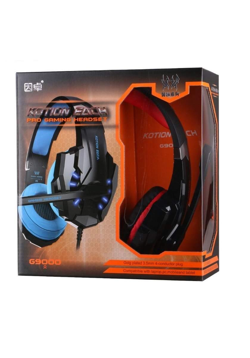 KOTION EACH G9000 OVER-EAR USB 7.1 STEREO GAMING HEADSET-Blue