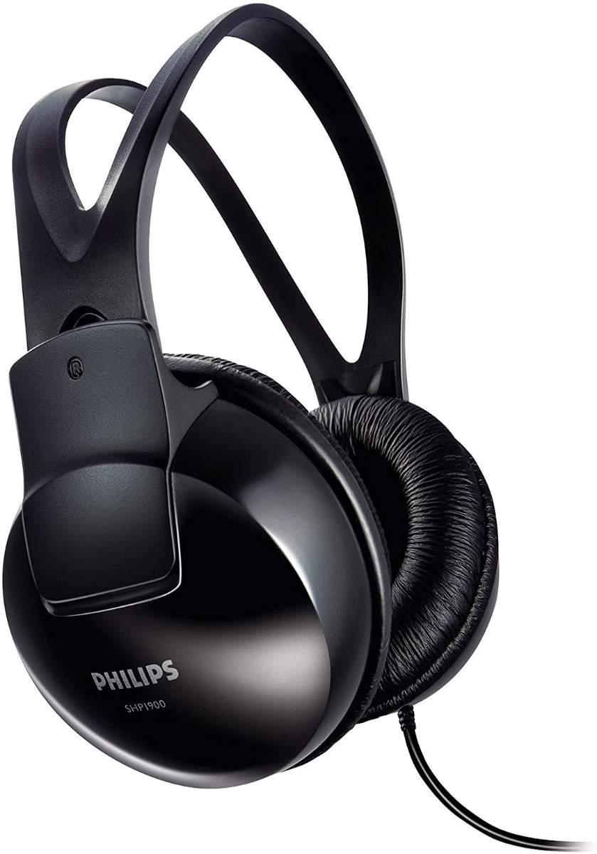 Philips SHP1900 Stereo Over-Ear Headphones-Black