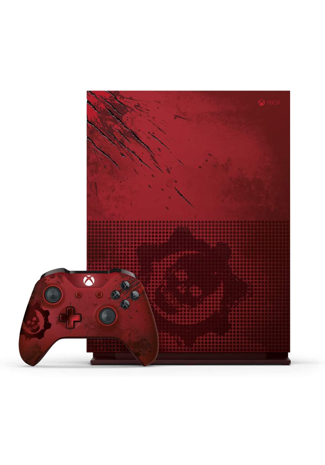 Microsoft Xbox One S 2TB console Gears Of War 4 limited edition جهاز اكس بوكس مع وحدة تحكم