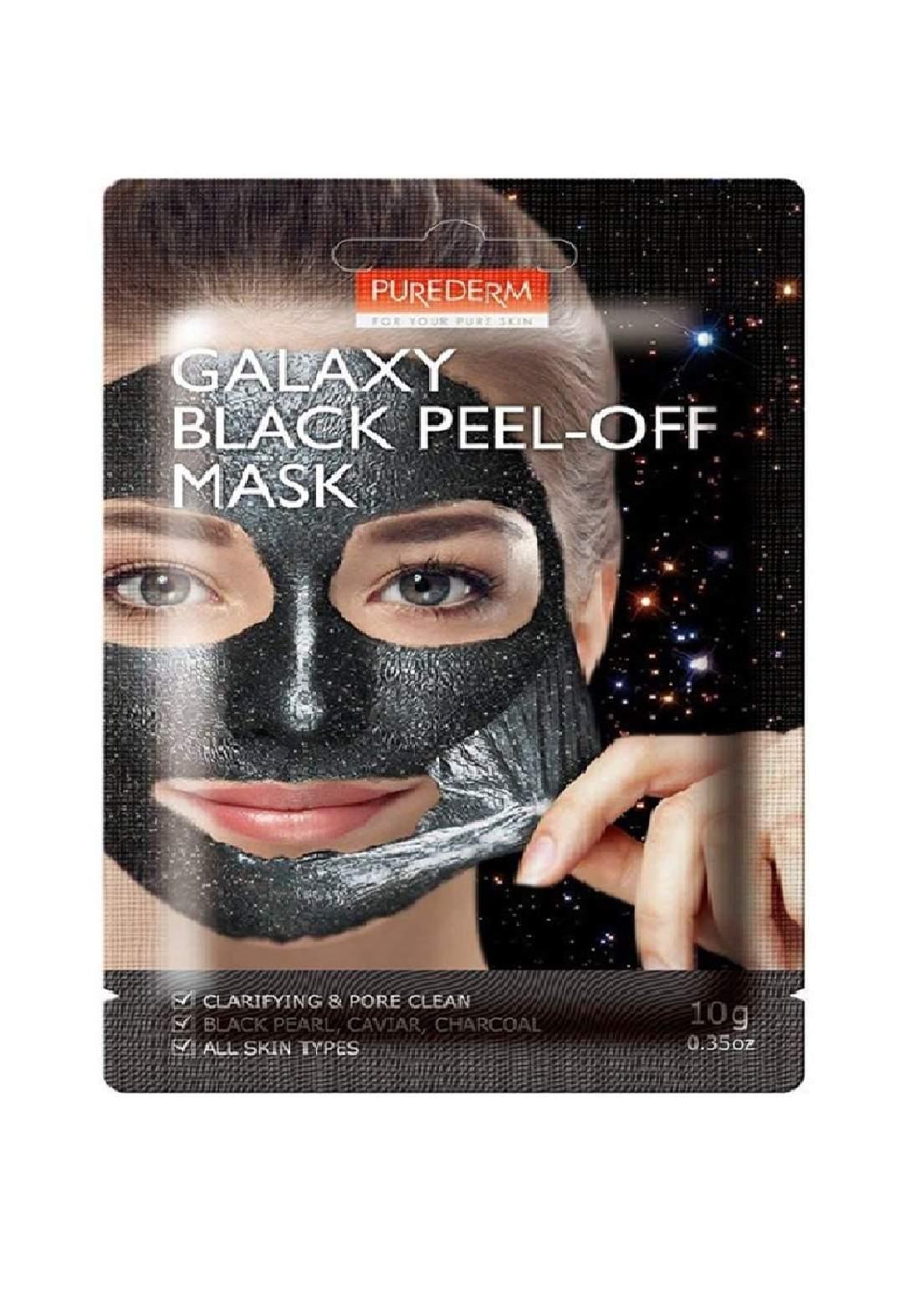 Purederm Galaxy Black Peel Off Mask  ماسك للوجه