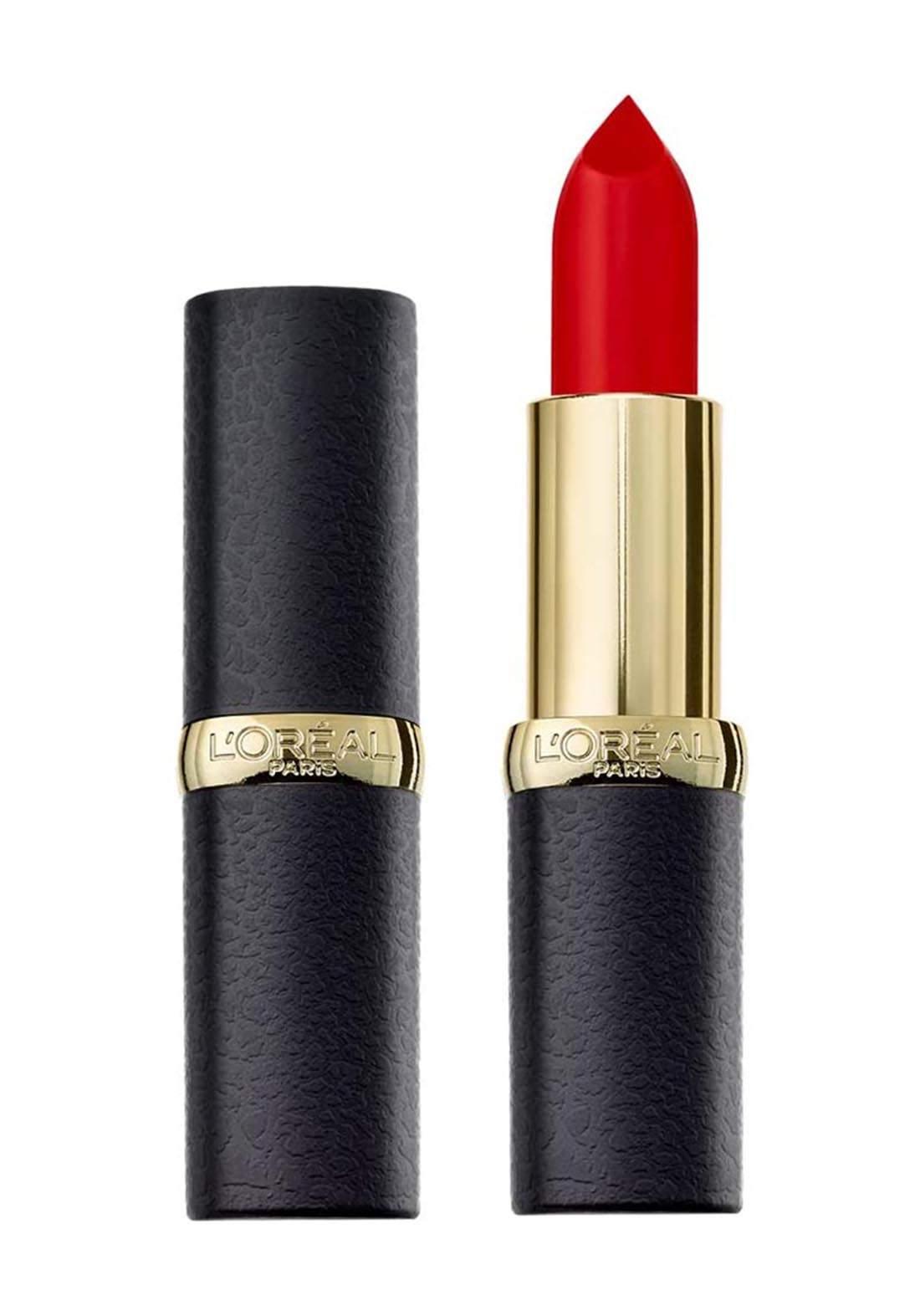 L'Oreal Paris Color Riche Matte Lipstick 346 Scarlet Silhouette (027-0855) احمر شفاه