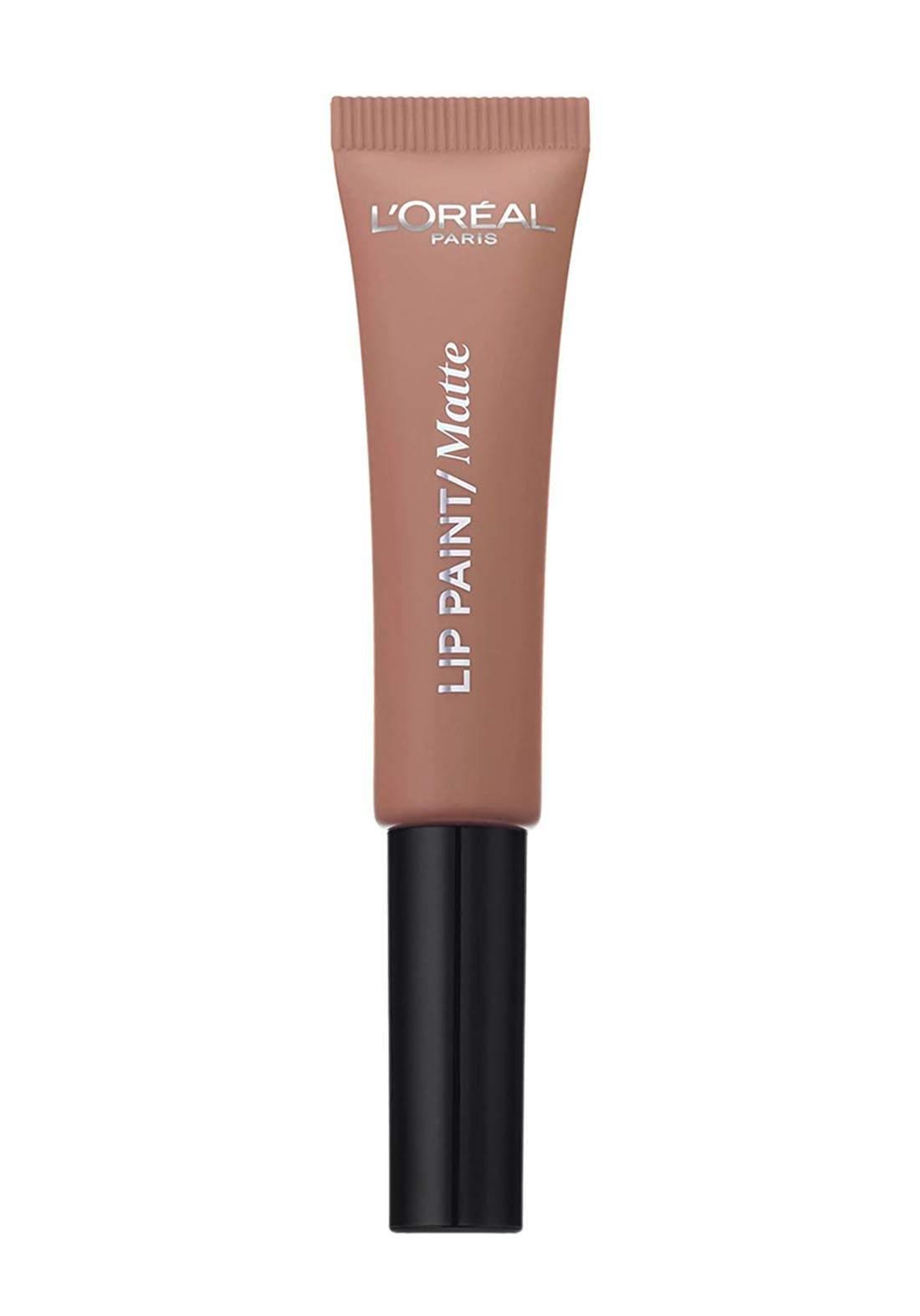 L'Oréal Paris Infallible Matte Lip Paint  209, Nude on Fleek (027-0962)  احمر شفاه