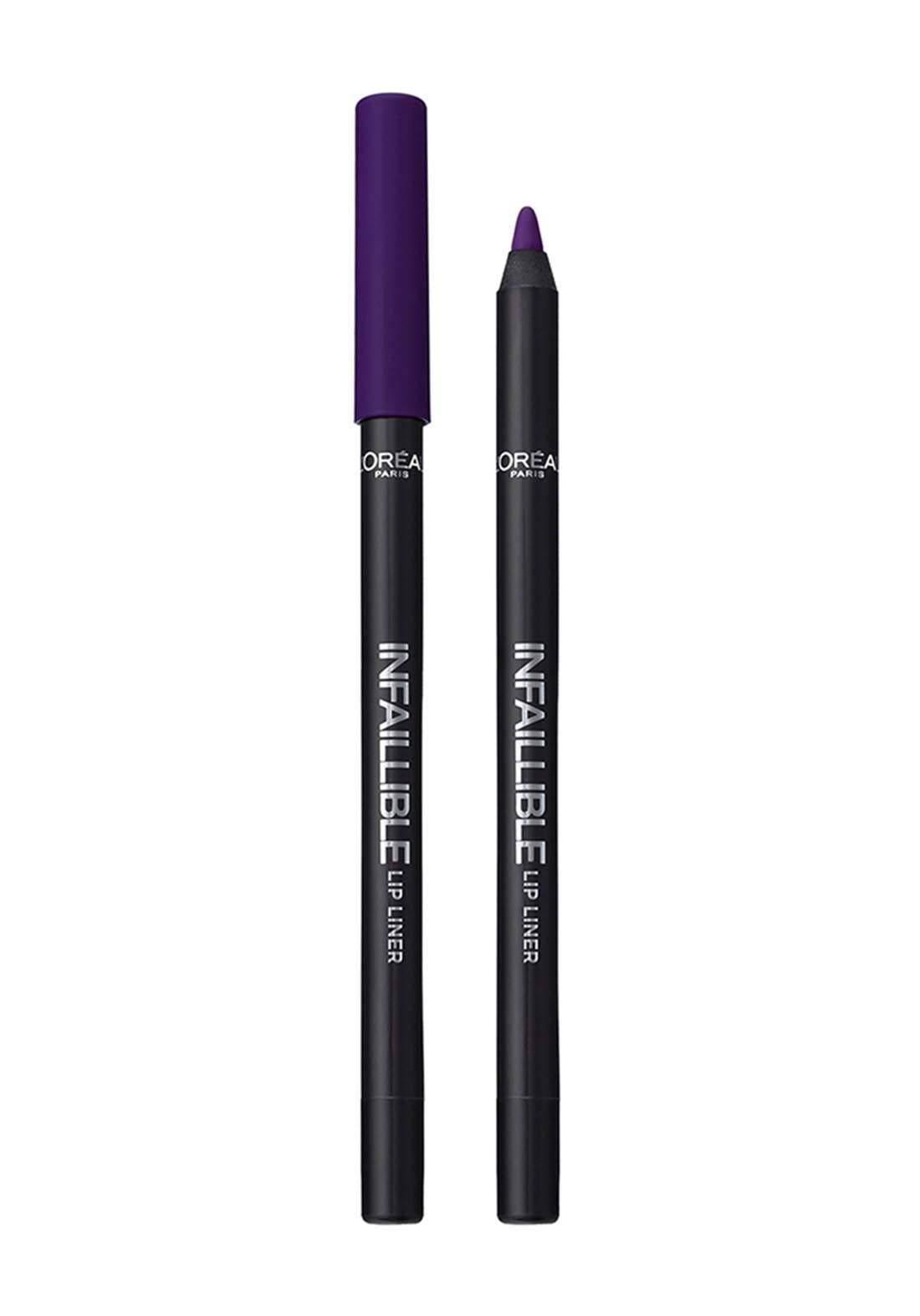 L'Oreal Paris Infallible Lip Liner 107 Dark River (027-0976) قلم محدد للشفاه