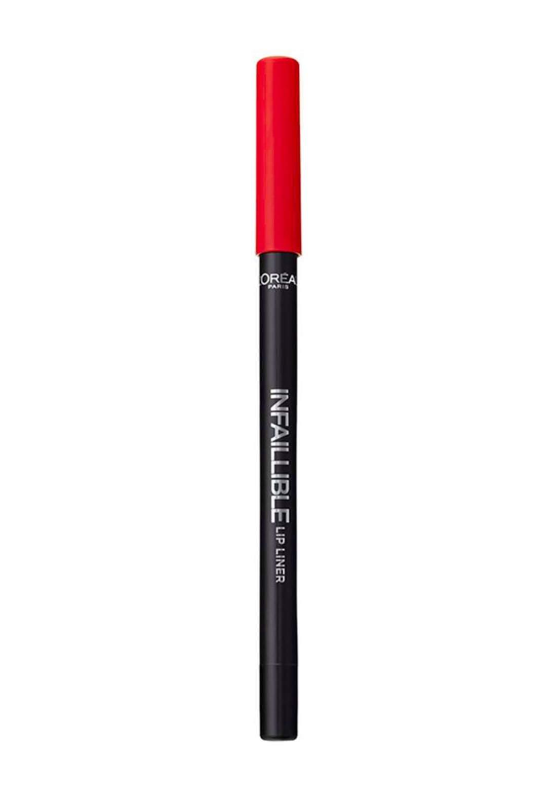 L'Oreal Paris Infallible Lip Liner 711 Invisible Red (027-0981) قلم محدد للشفاه