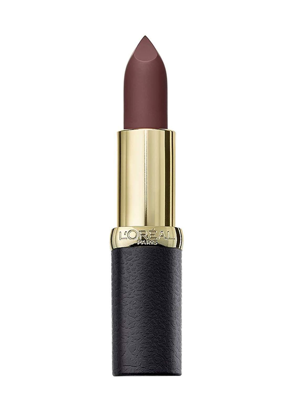 L'Oreal Color Riche Matte Addiction Lipstick 654 Bronze Sautoir (027-1021) احمر شفاه