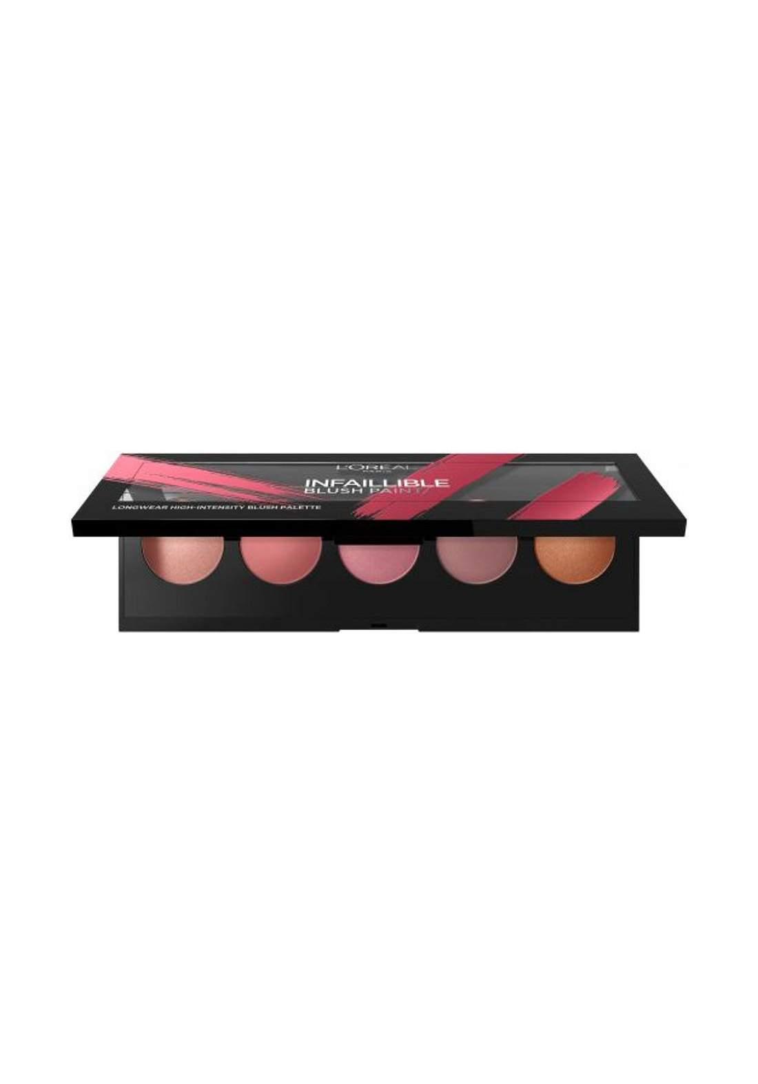 L'Oréal Infallible Blush Paint Palette Amber (027-0845) احمر خدود