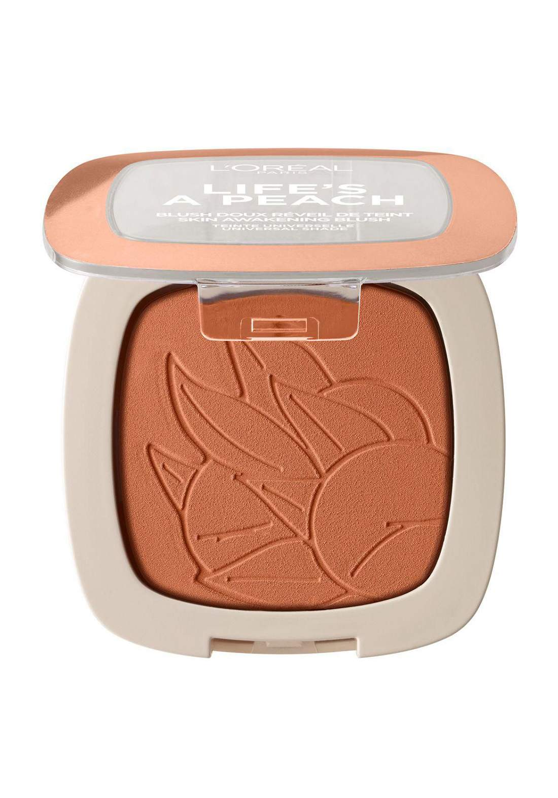 L'Oreal Paris Life's A Peach Blush Powder 01 Eclat Peach (027-1047) احمر خدود