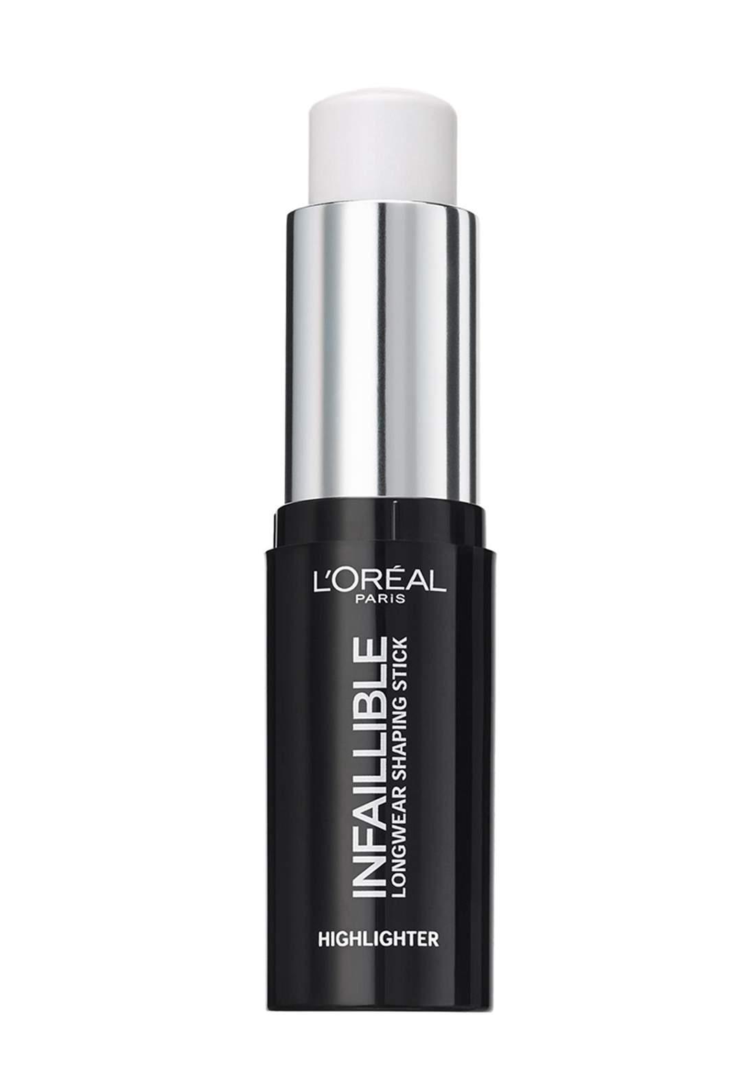 L'Oreal Paris Infallible Stobe Highlight Stick 500 Frozen (027-1060) اضاءة كريمية للوجه