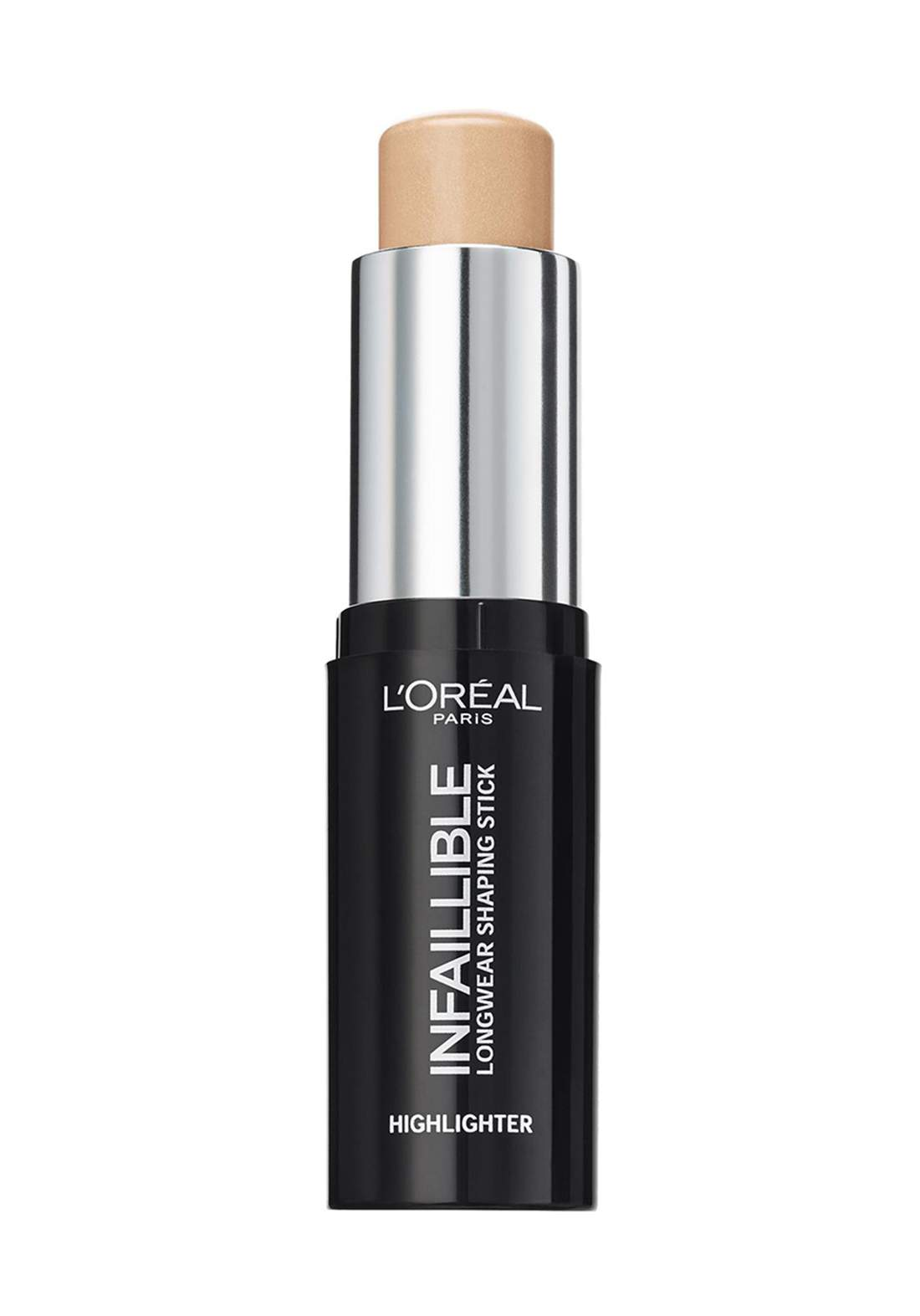 L'Oreal Paris Infallible Stobe Highlight Stick 502 Gold is cold (027-1061) اضاءة كريمية للوجه