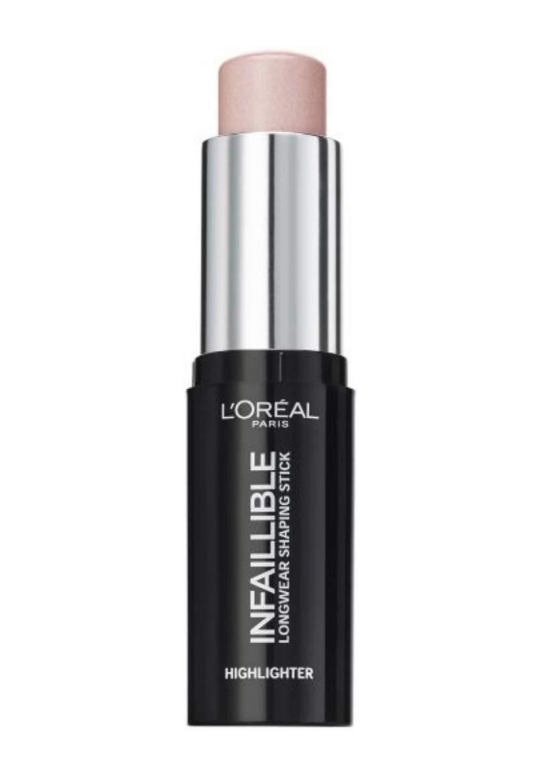 L'Oreal Paris Infallible Stobe Highlight Stick 503 Slay in Rose (027-1062) اضاءة كريمية للوجه