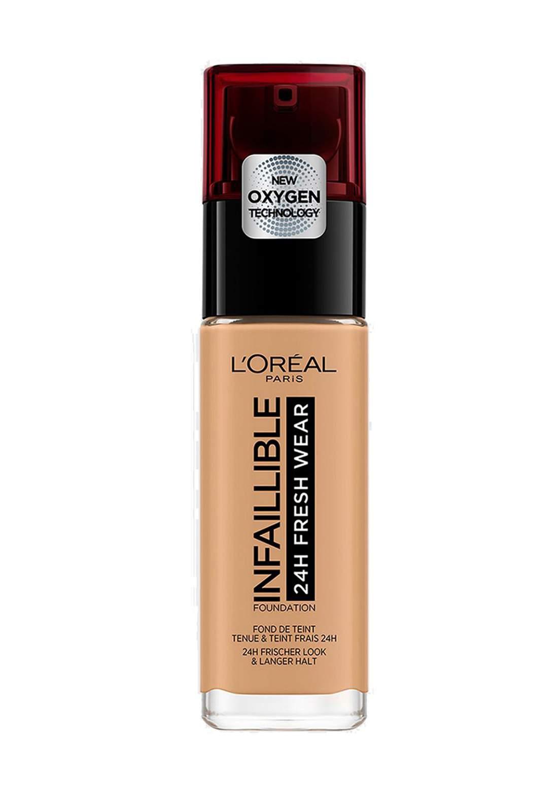 L'Oréal Paris Infaillible 24H Fresh Wear Foundation 260 Soleil Dore/Go (027-1079)  كريم اساس