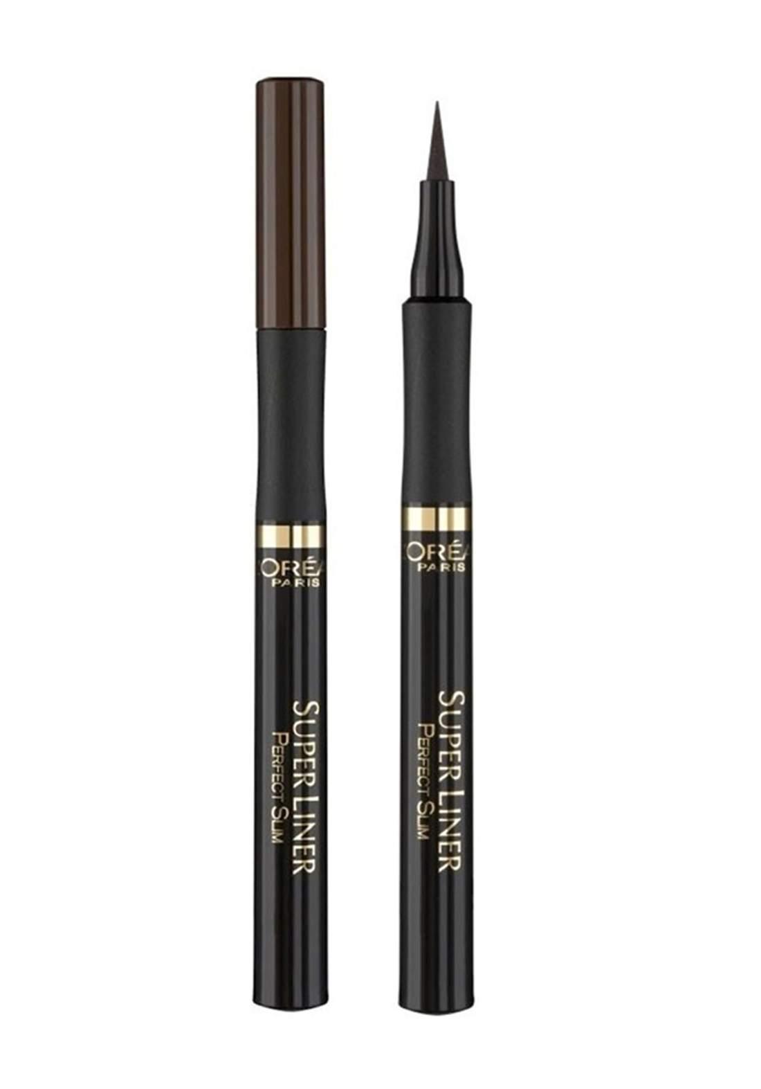 L'Oreal Paris Superliner Perfect Slim Eyeliner Brown (027-0132) قلم محدد للعيون