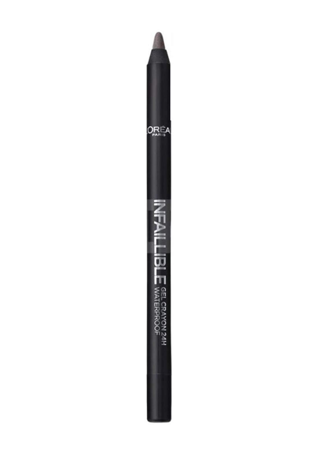 L'Oreal Paris Infallible Gel Crayon Eyeliner 04 Taupe (027-0835) قلم تحديد العيون