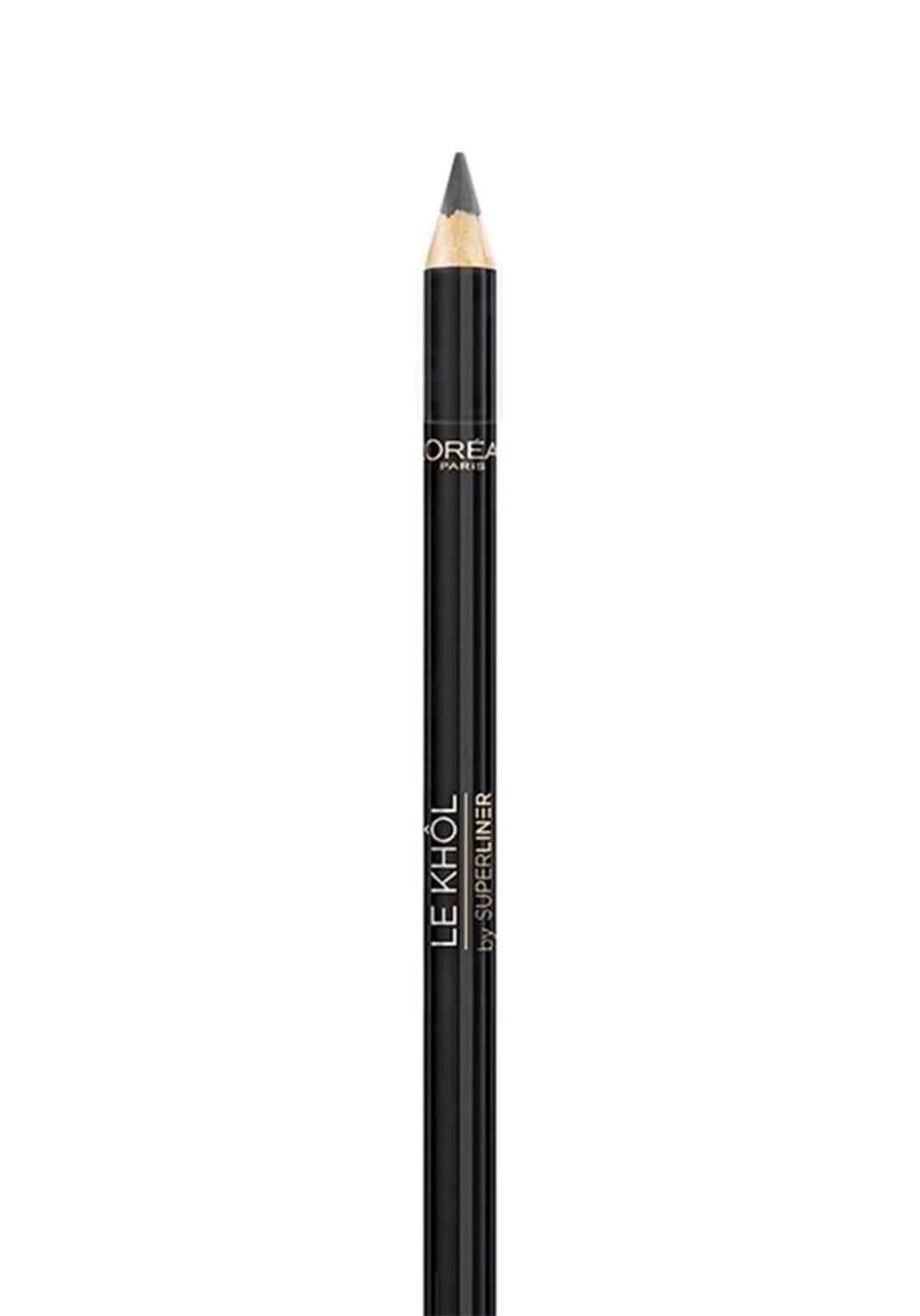 L'Oréal Superliner Le Khol Eyeliner 101 Midnight Black (027-0941)  قلم محدد للعيون