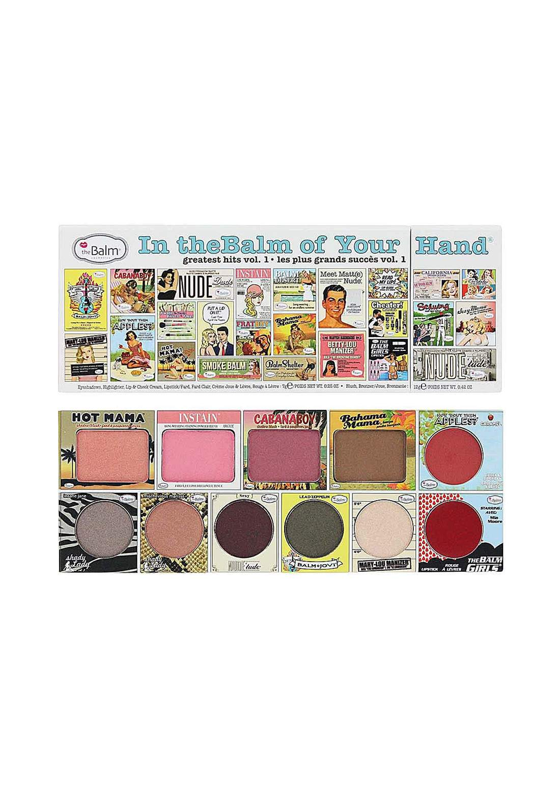(299-0001)The Balm Of Your Hand Palette  باليت مكياج