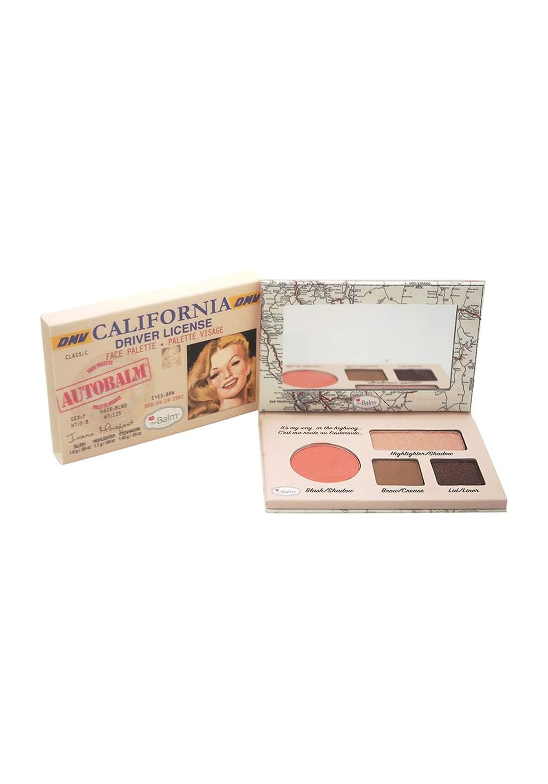 (299-0101)The Balm Autobalm California Face Palette باليت مكياج