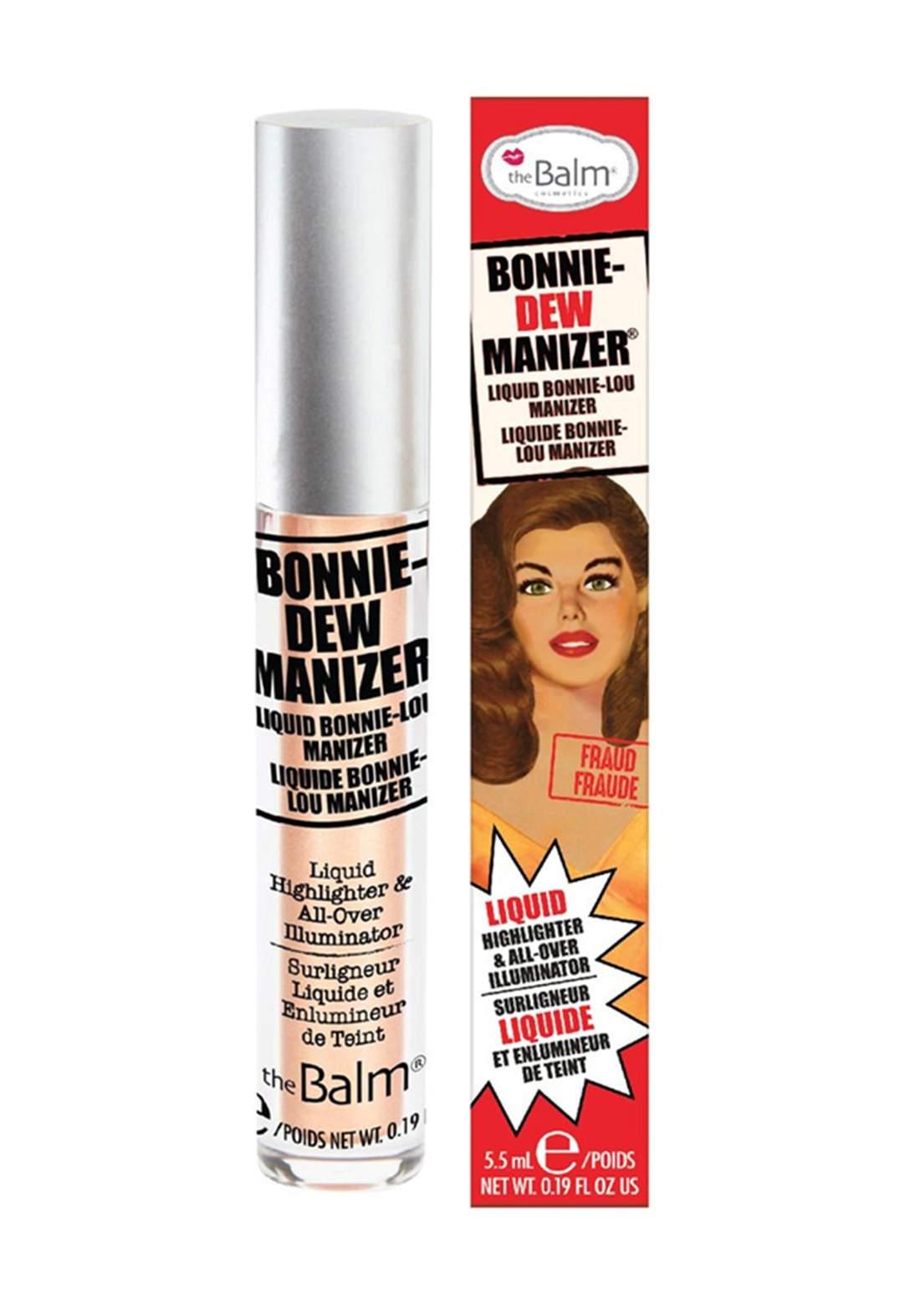 (299-0339)The Balm Bonnie Dew Manizer Liquid Highlighter هايلايتر