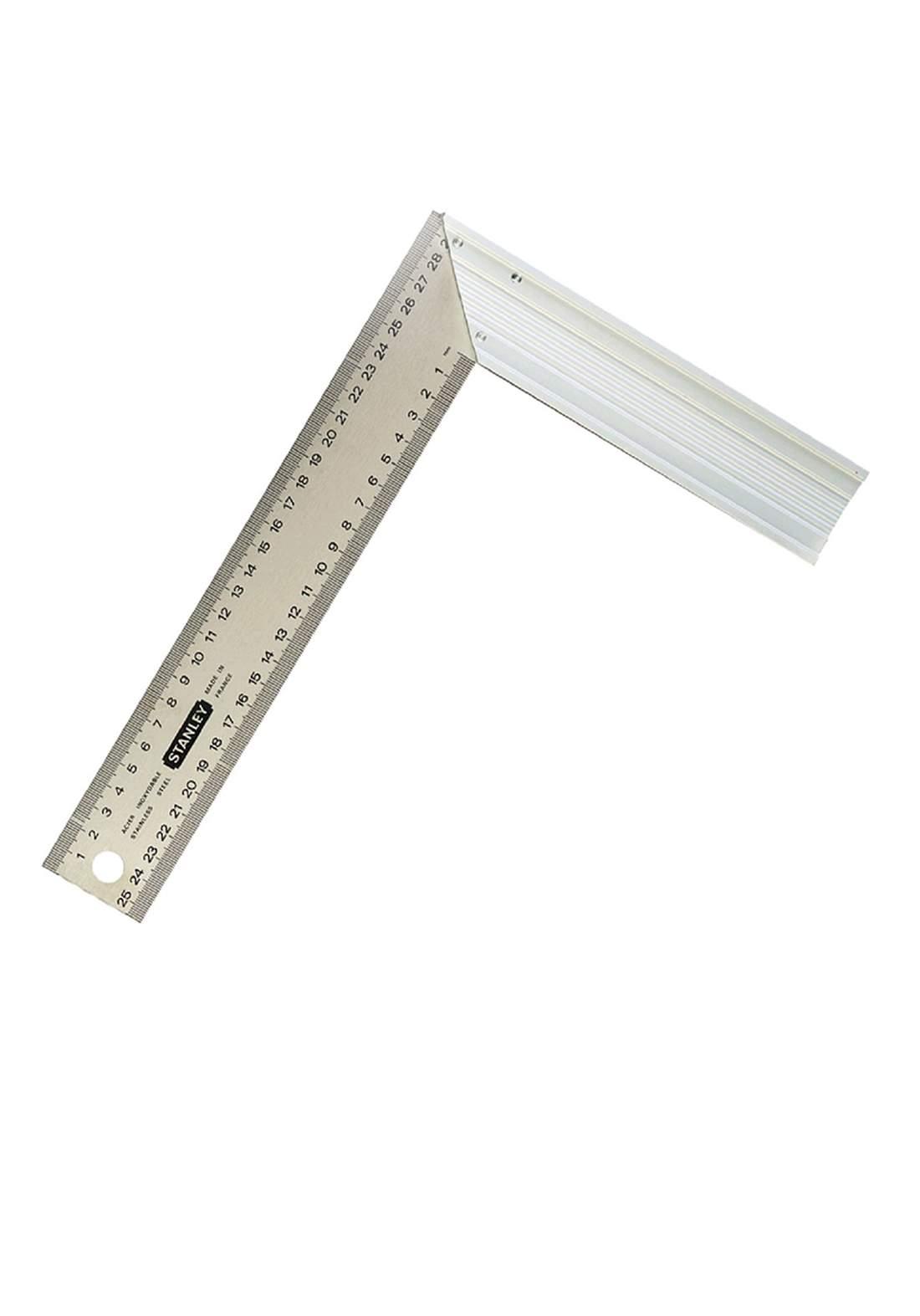 Stanley 1-45-686 Steel Square Aluminum Handle 200mm(L) / 300mm(W) كونيه