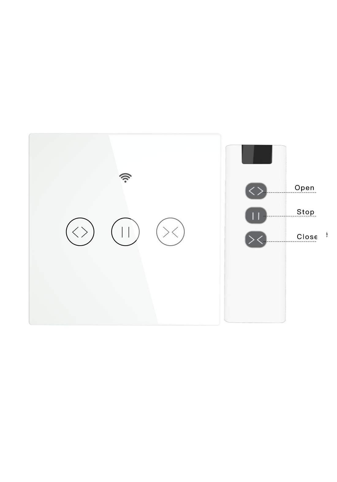 Smart Curtian Switch Manual+RF Control سويج للستارة تحكم عن بعد