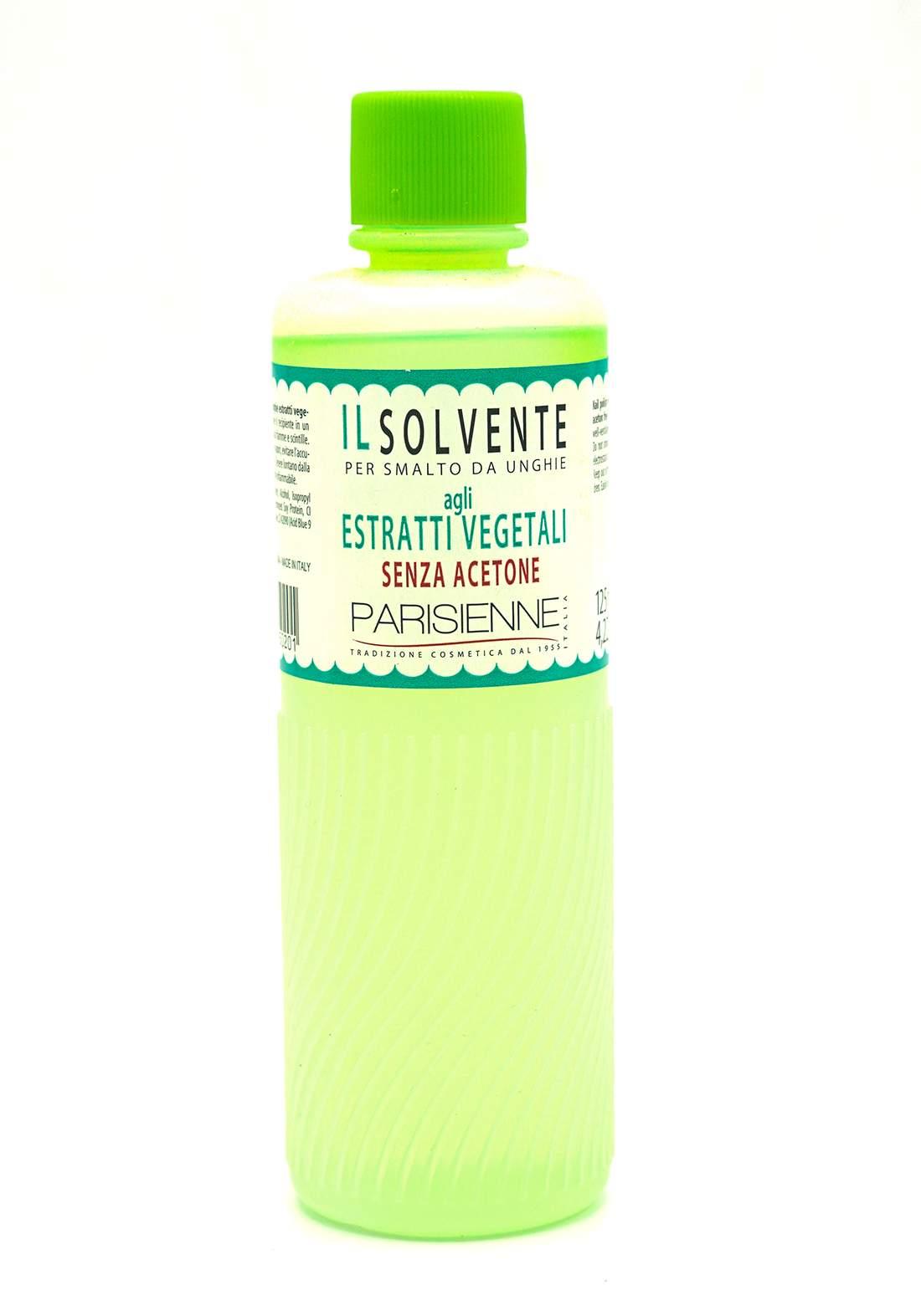 Parisienne Nail Polish Remover With Plant Extract 125ML مزيل طلاء الاظافر