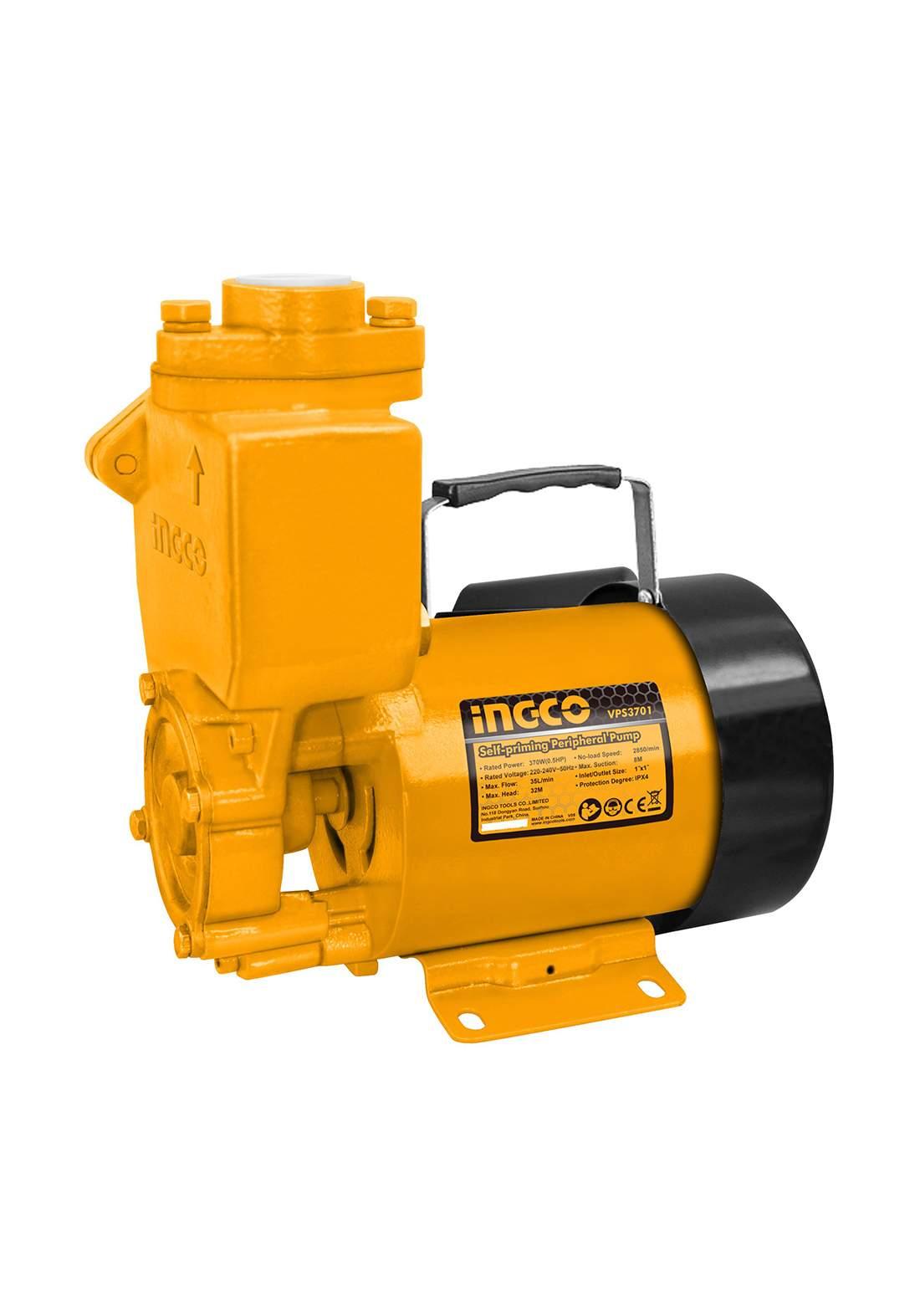 Ingco VPS3701 Self-Priming peripheral pump ماطور كهربائي 1/2 حصان