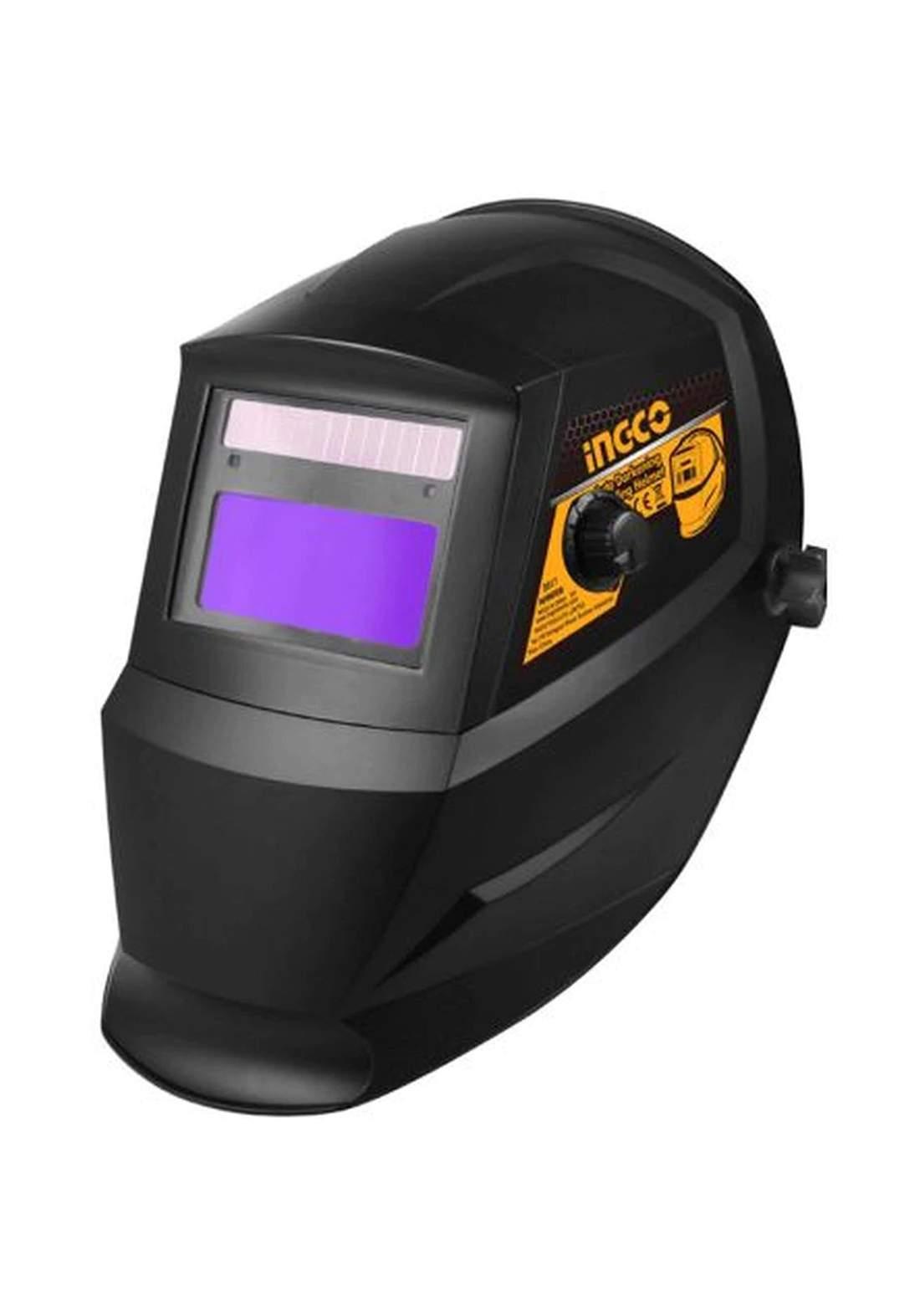 Ingco AHM008 Auto Darkening Welding Helmet قناع لحام