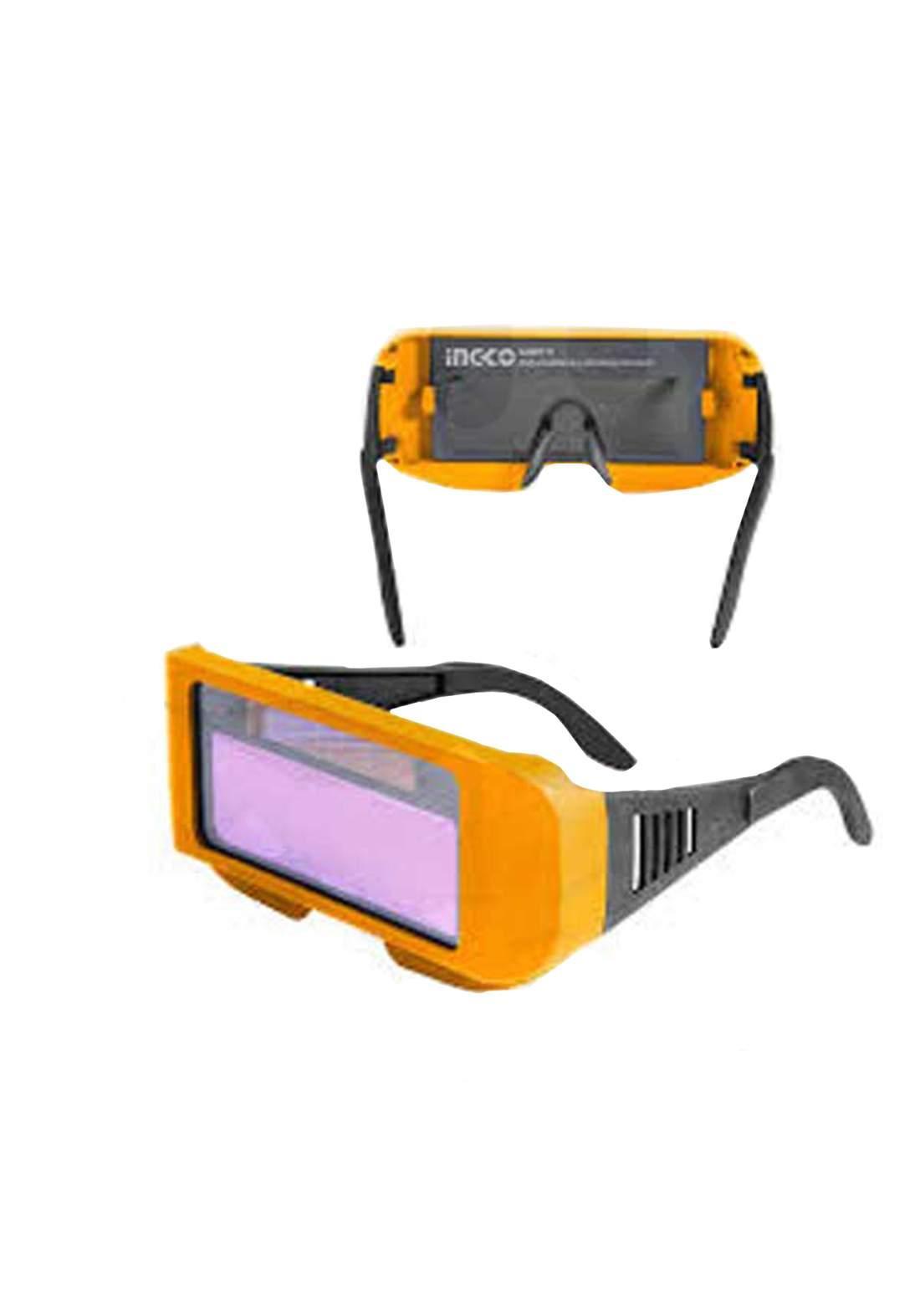 Ingco Ahm111 Auto Darkening Welding Glasses  ننظارة  لحام
