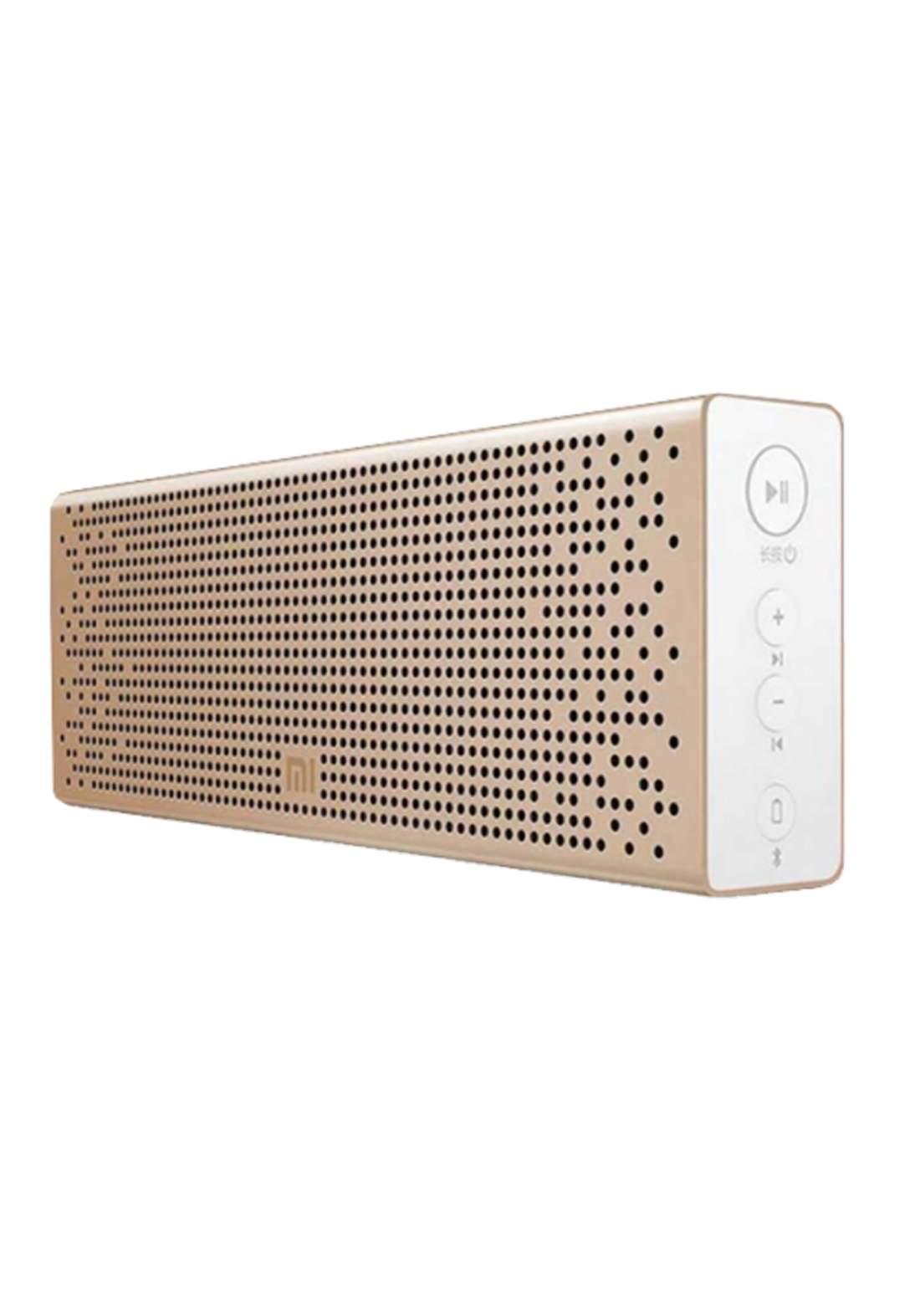 Xiaomi Mi Bluetooth Speaker Gold  مكبر صوت