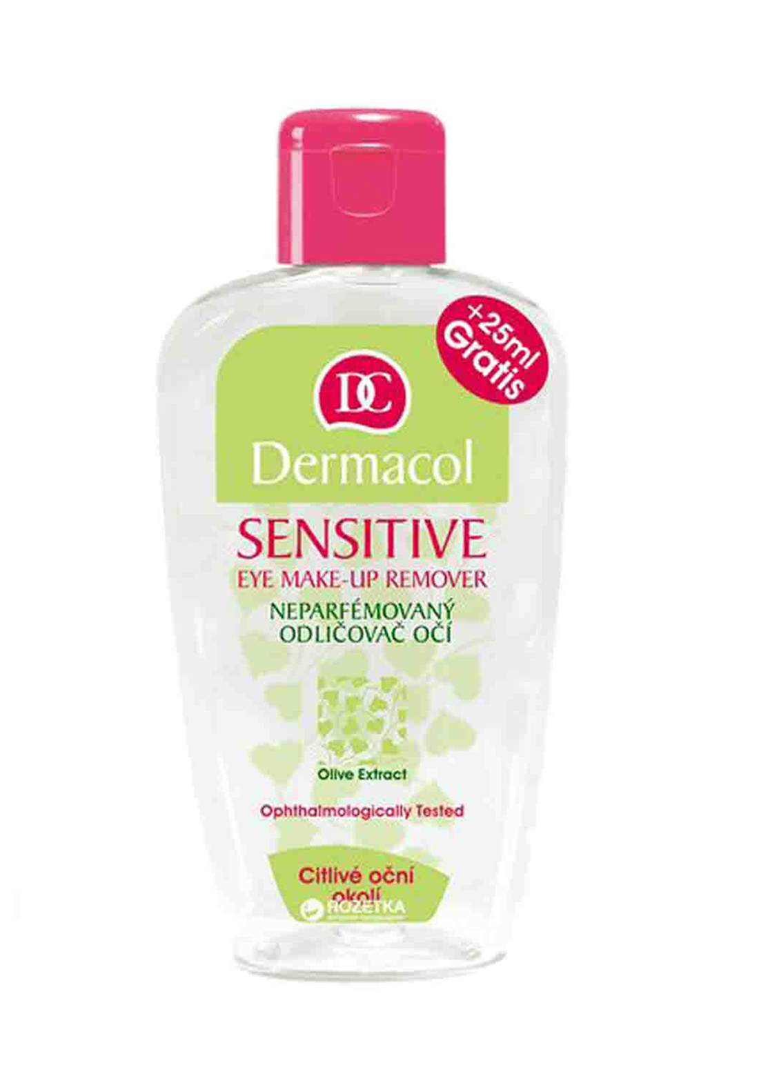 Dermacol Sensitive Eye Make-up Remover 150 ml مزيل مكياج للعيون الحساسة من ديرماكول