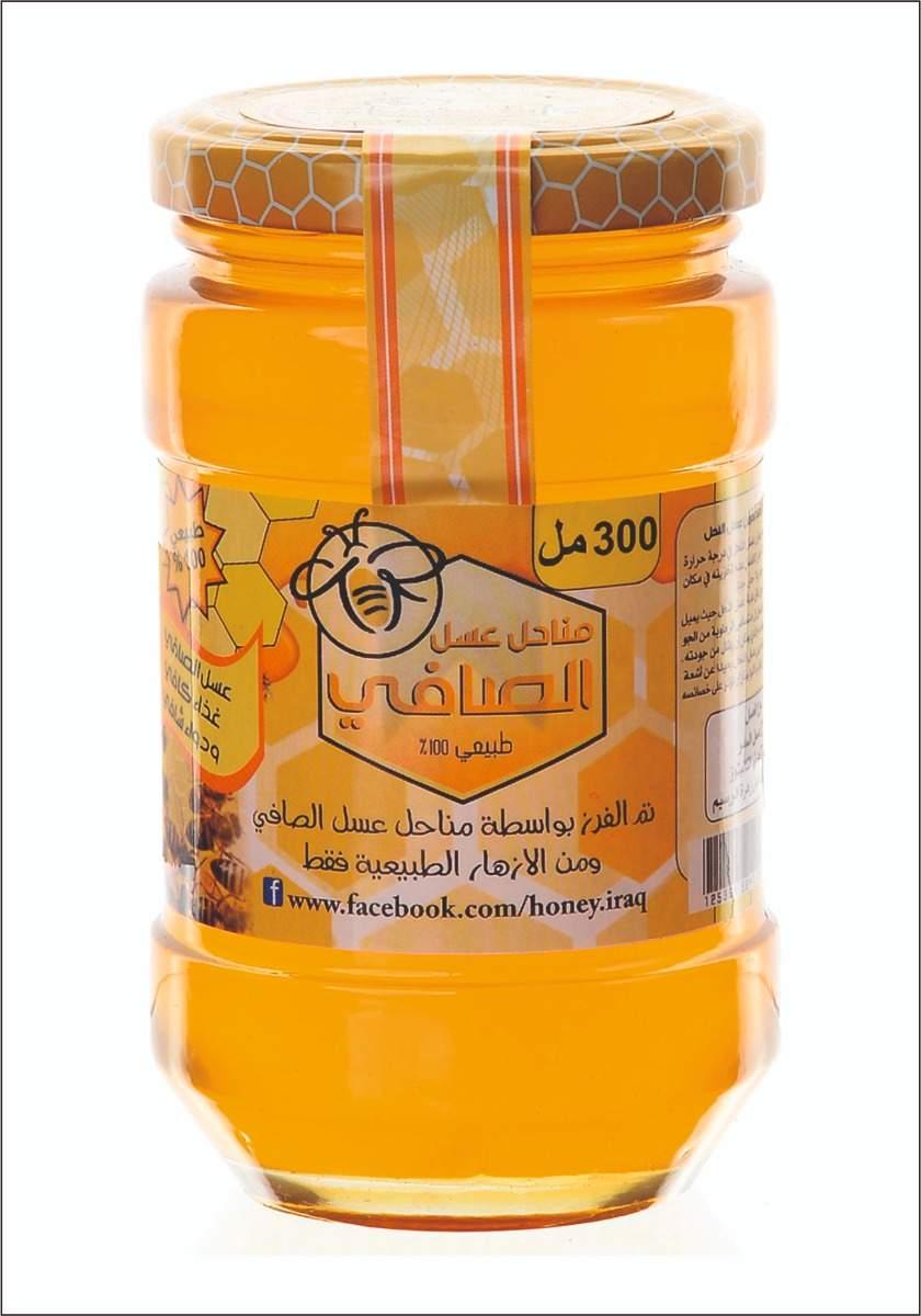 عسل زهرة البرسيم Clover honey 300Ml
