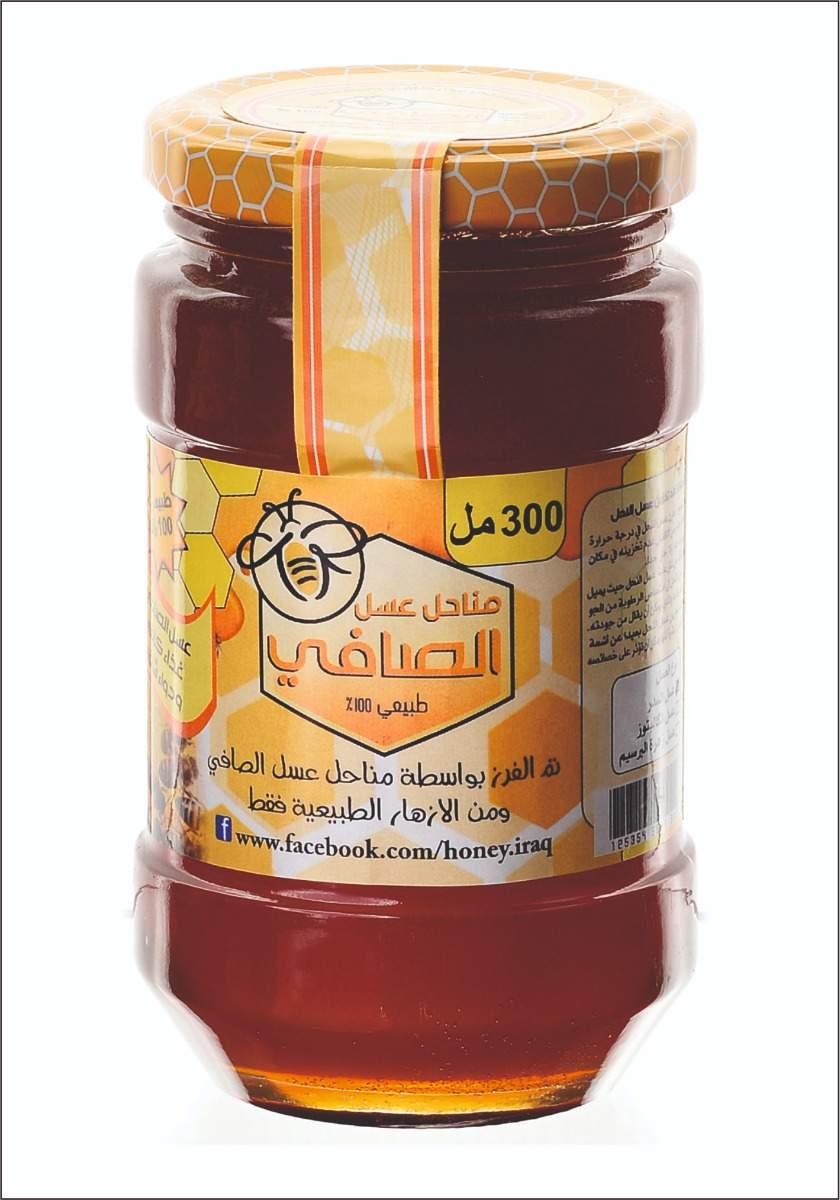 عسل ازهار اشجار السدر Wild Jujube Honey 300Ml