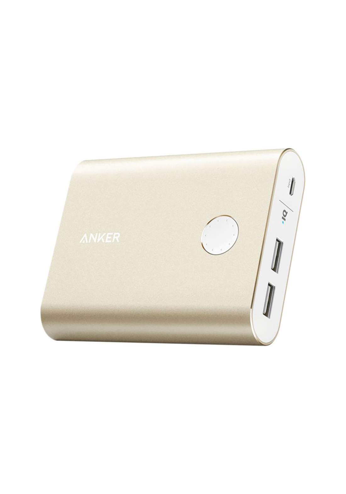 Anker Powerbank Anker PowerCore+ 13400mAh Quick Charge 3.0  A1316HB1 Gold شاحن محمول
