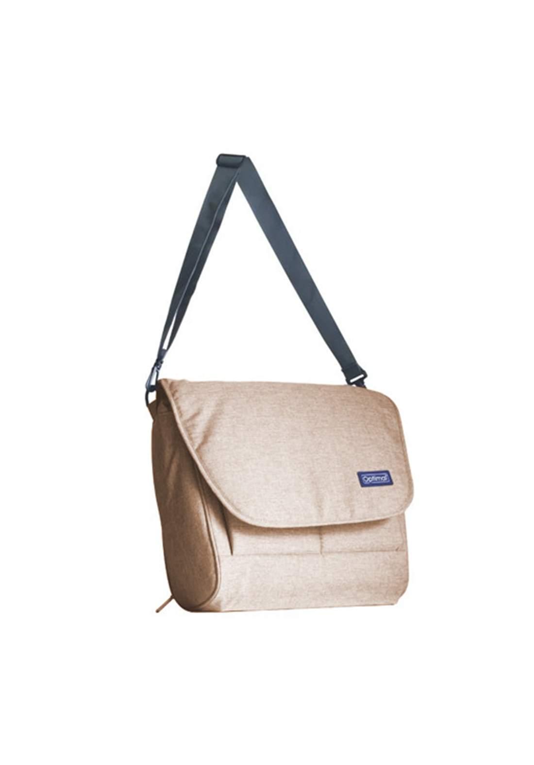 Optimal Mom & Baby Bag  peige حقيبة مستلزمات للاطفال