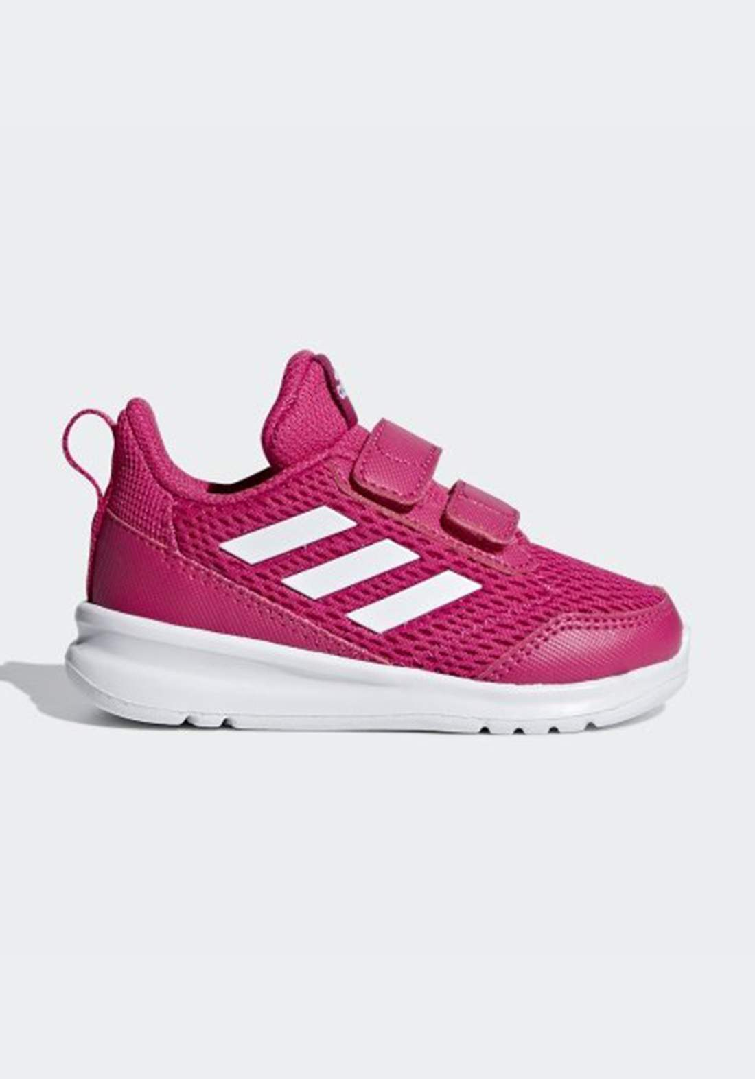 حذاء رياضي بناتي وردي اللون من أديداس