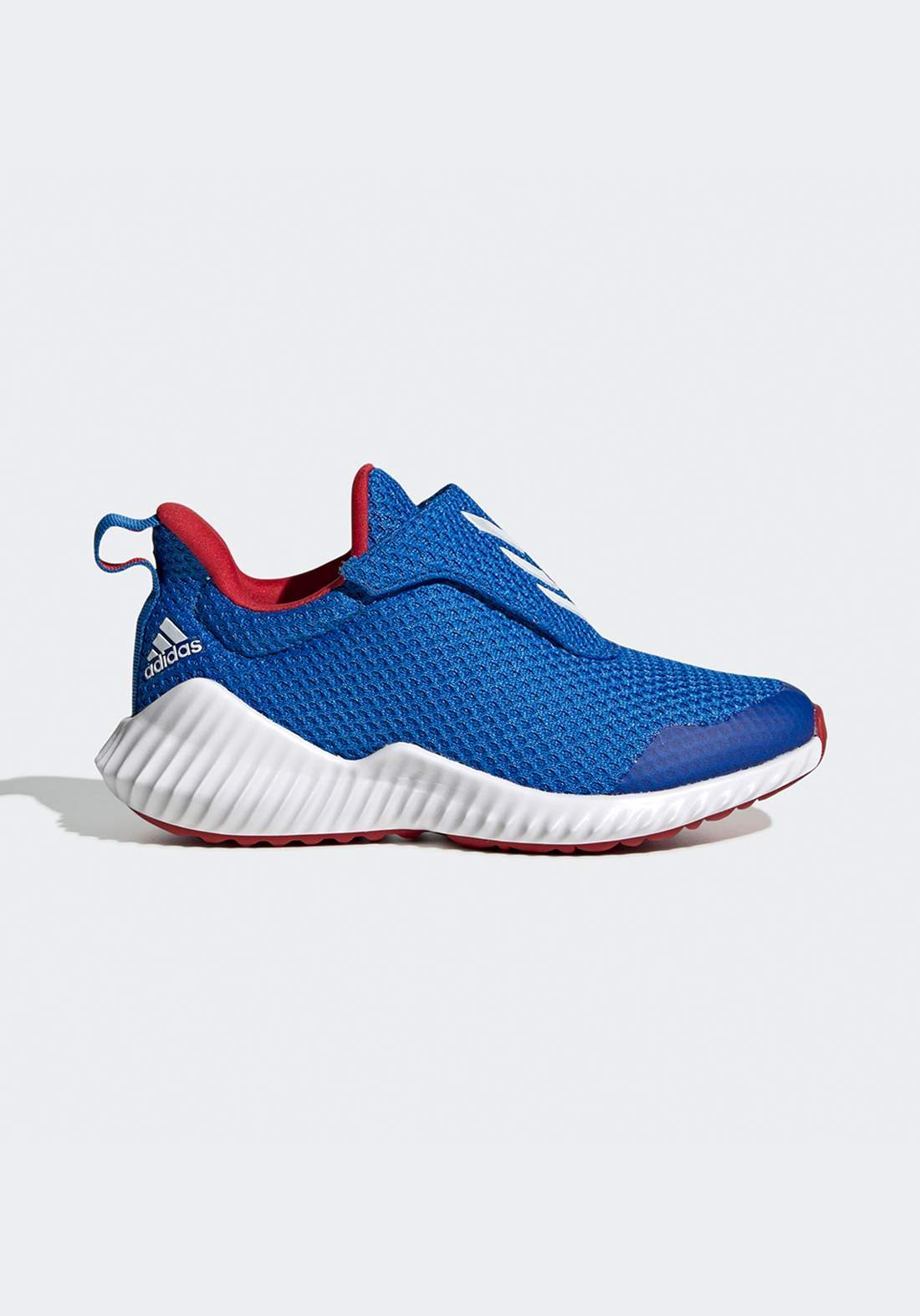 حذاء رياضي نسائي ازرق و ابيض اللون من أديداس
