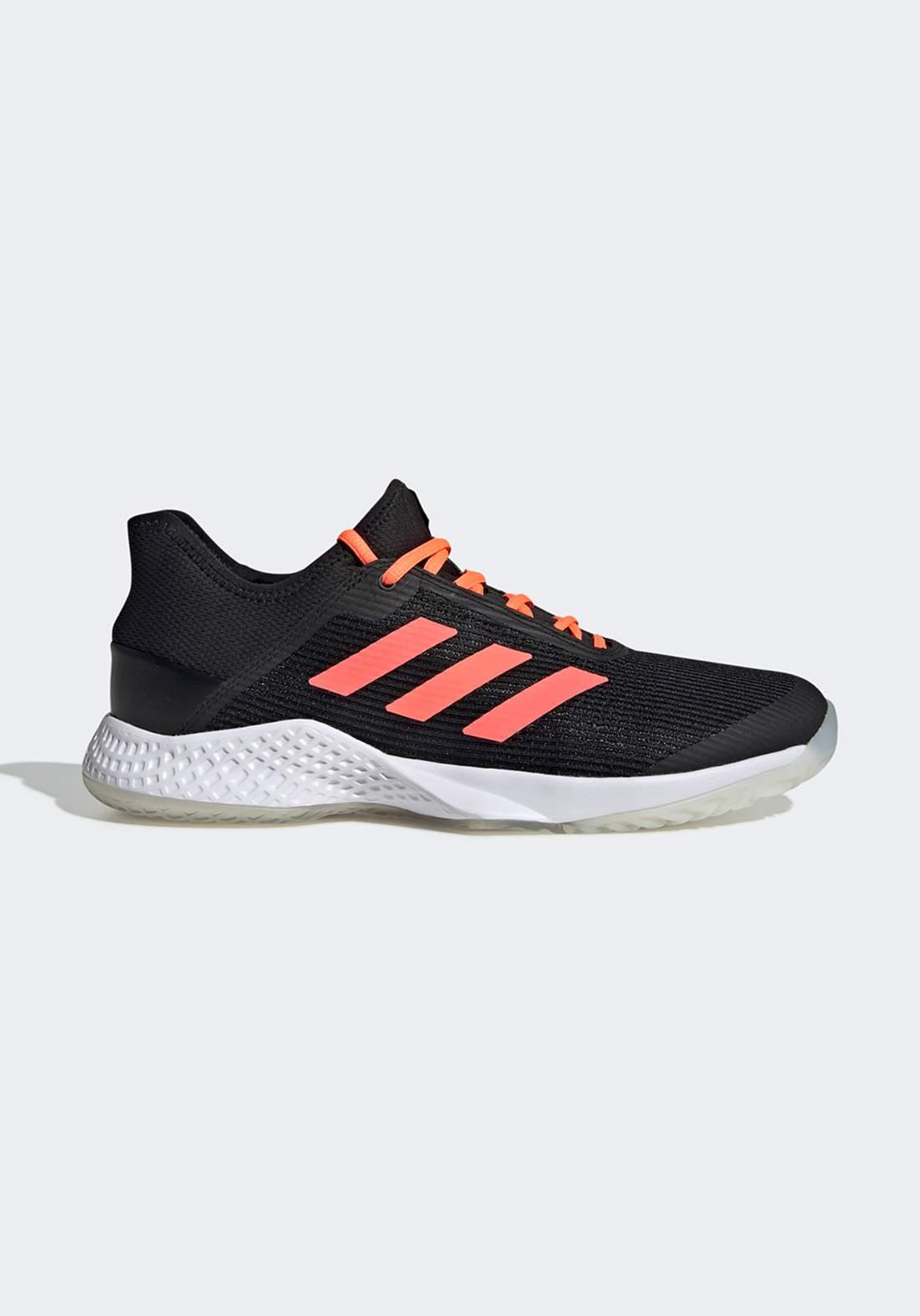 حذاء رياضي رجالي  اسود و برتقالي اللون من أديداس