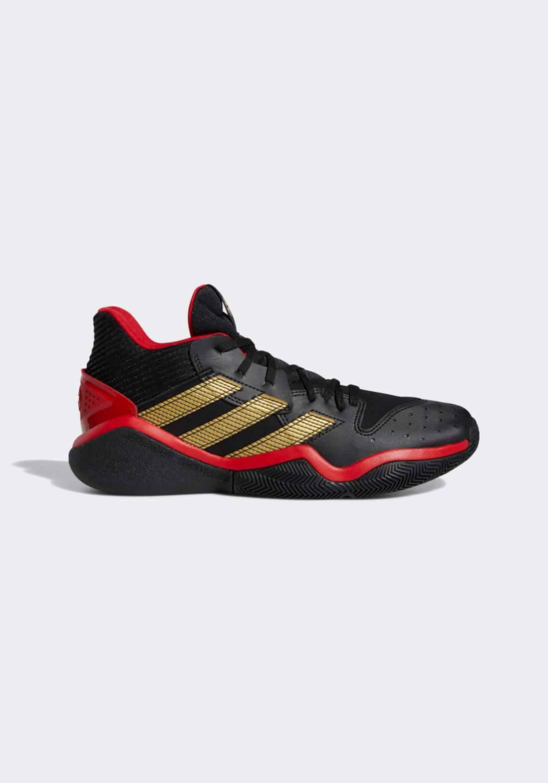 حذاء رياضي رجالي  اسود و احمر اللون من أديداس