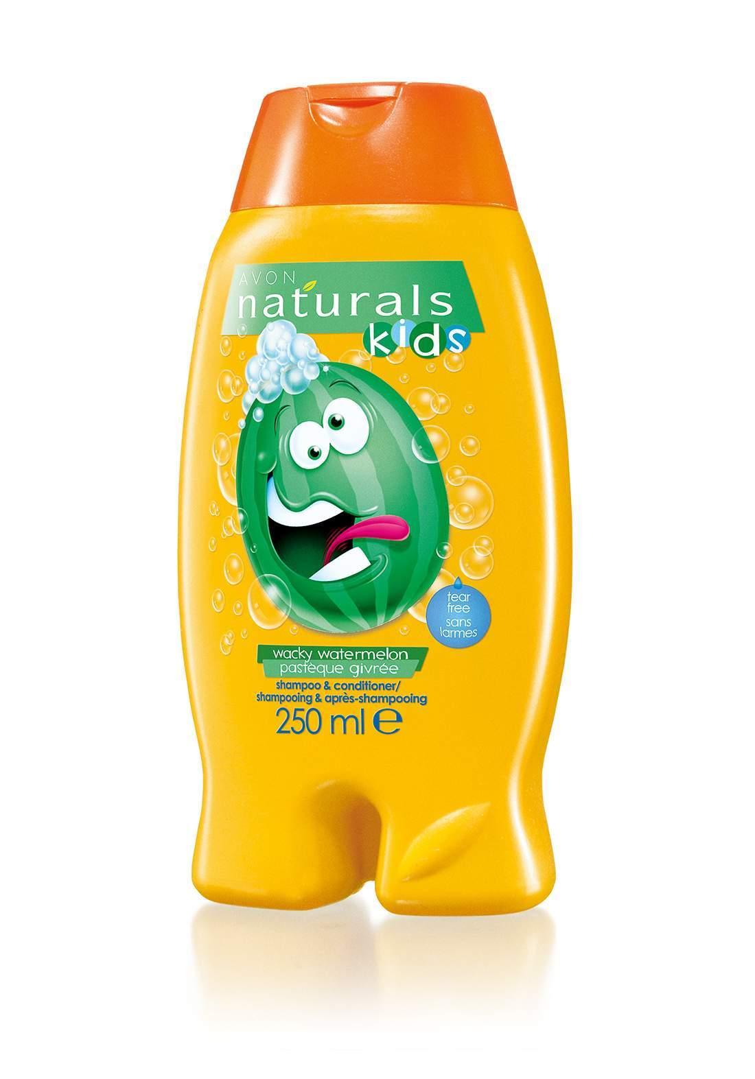 (1819100)Avon Naturals 2-in-1 Baby Shampoo and Conditioner 250ml  شامبو وبلسم 2 في 1 للأطفال
