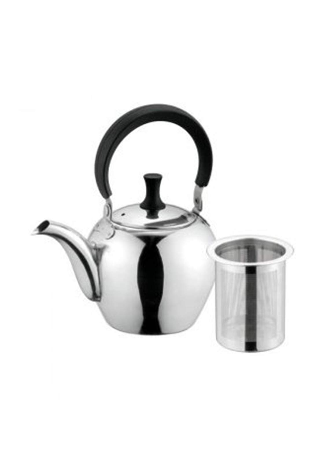 ابريق شاي من بيرل ميتال 600مل