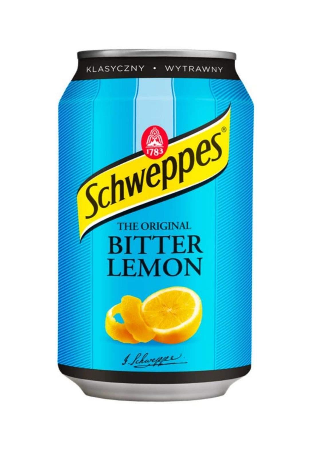 Schweppes Bitter Lemon Drink مشروب الليمون المر