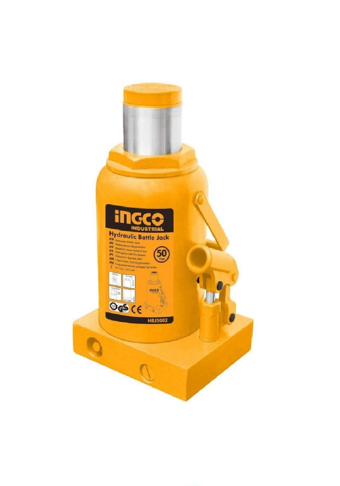Ingco HBJ5002 Hydraulic Jack 50 Tons جك هيدروليك