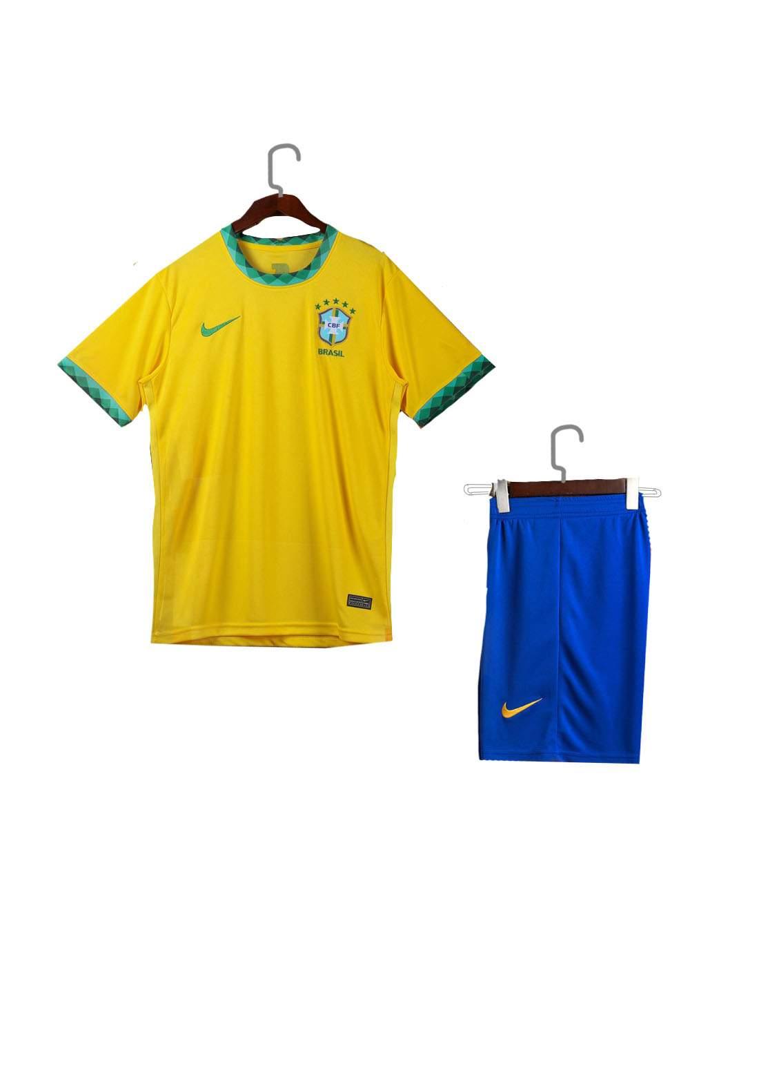 دريس رياضي رجالي Brazil اصفر اللون