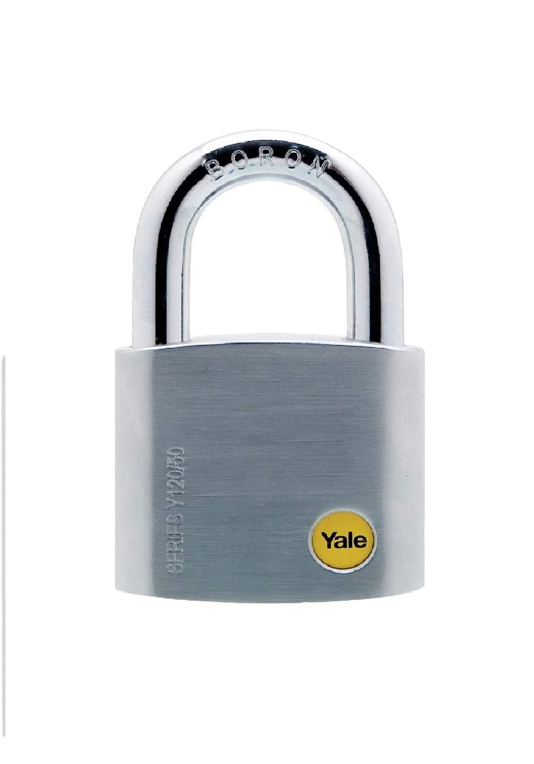 YaleY120B/50/127/1 Padlock Brass 50 mm قفل للاغراض العامة