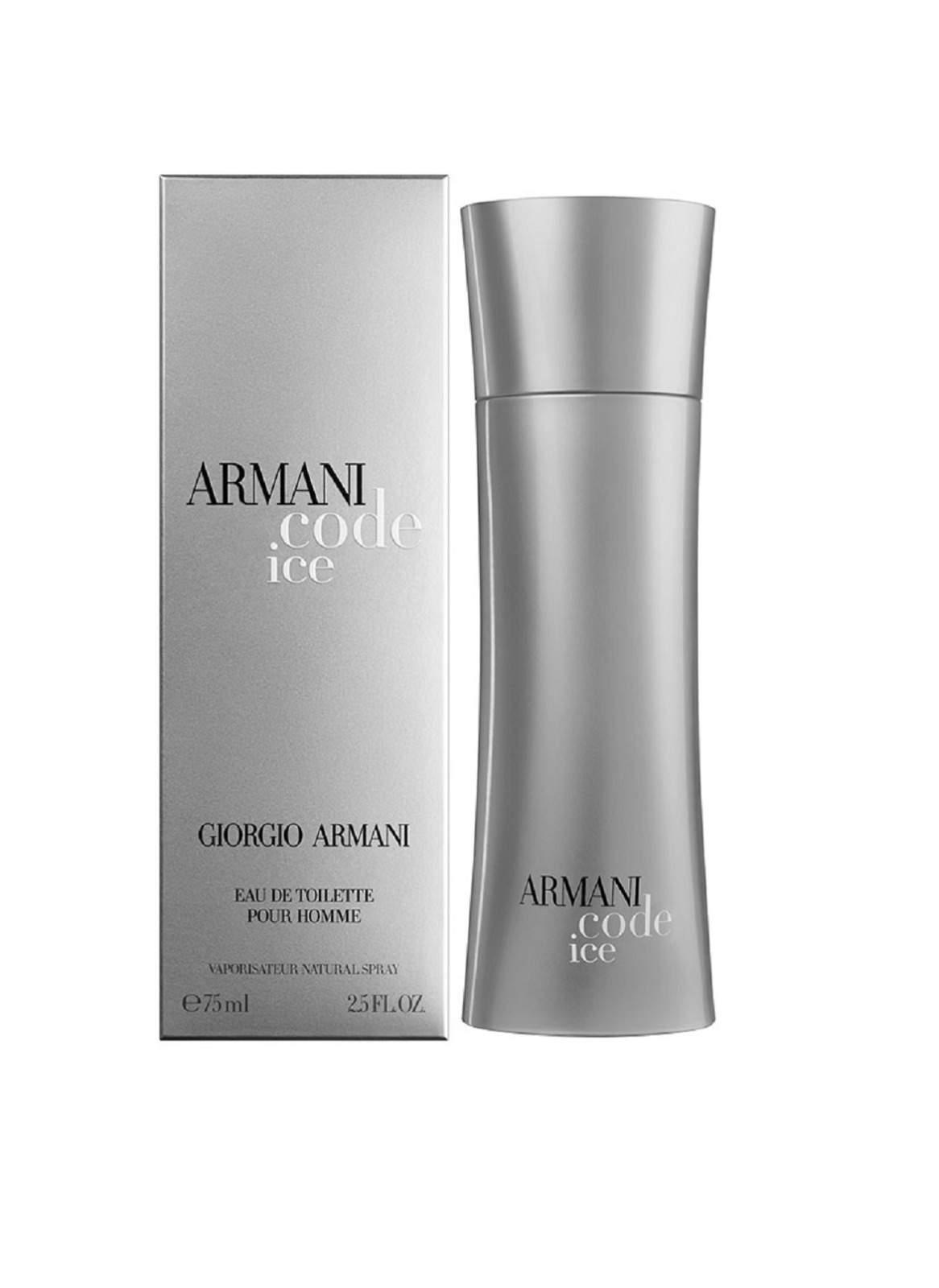 Giorgio Armani Code Ice Eau De Toilette For Men 75 ml عطر رجالي