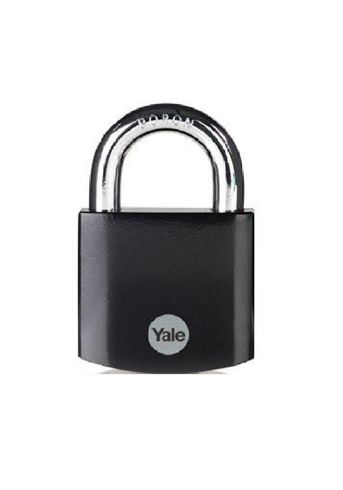 Yale Y300B/63/127/1 Padlock Brass 63 mm قفل للاغراض العامة