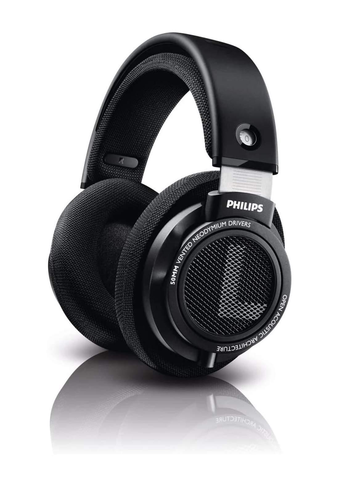 Philips SHP9500 HiFi Stereo Over-Ear Open-Back Headphones  - Black سماعة